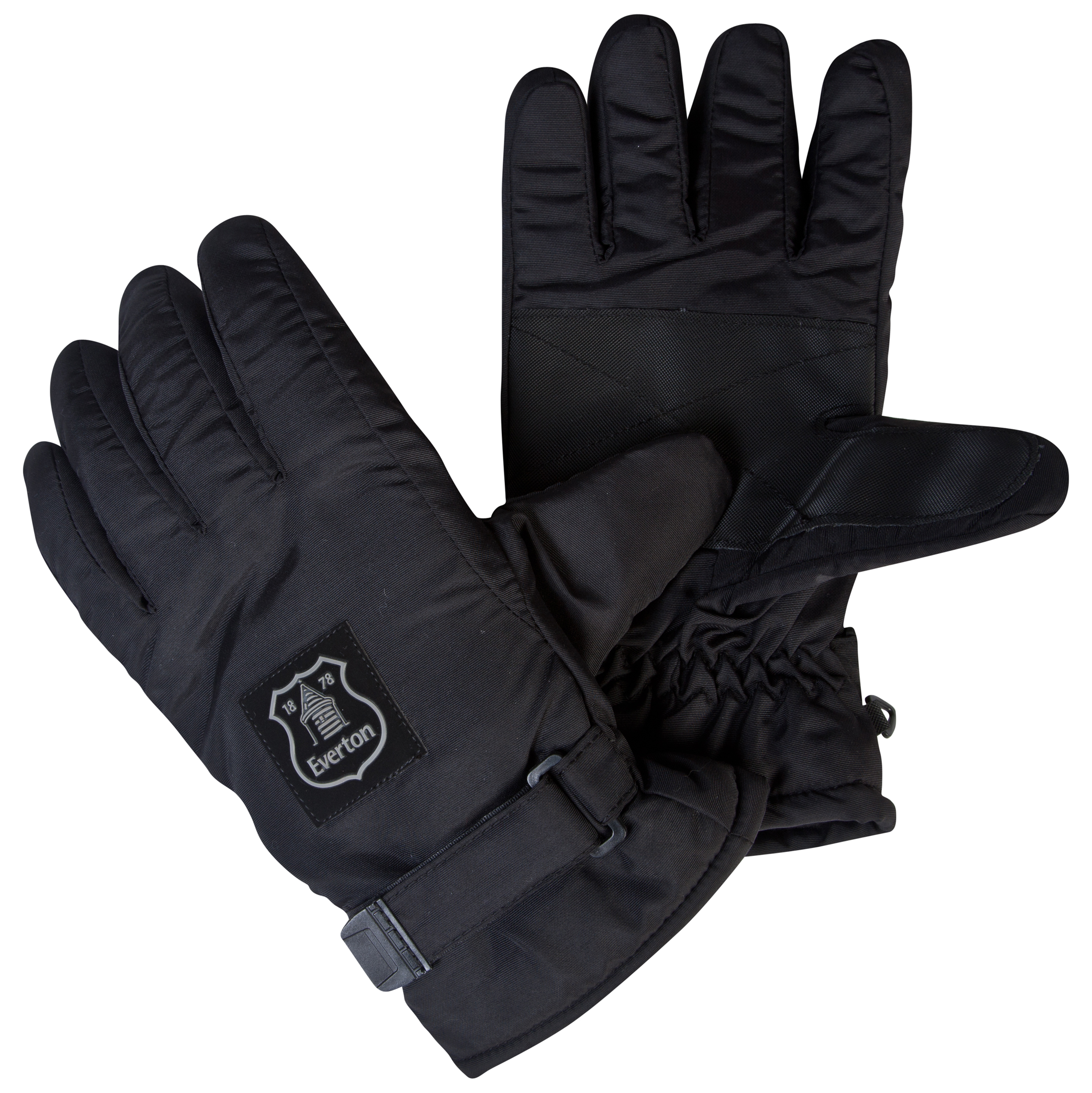 Everton Performance Drift Gloves Black