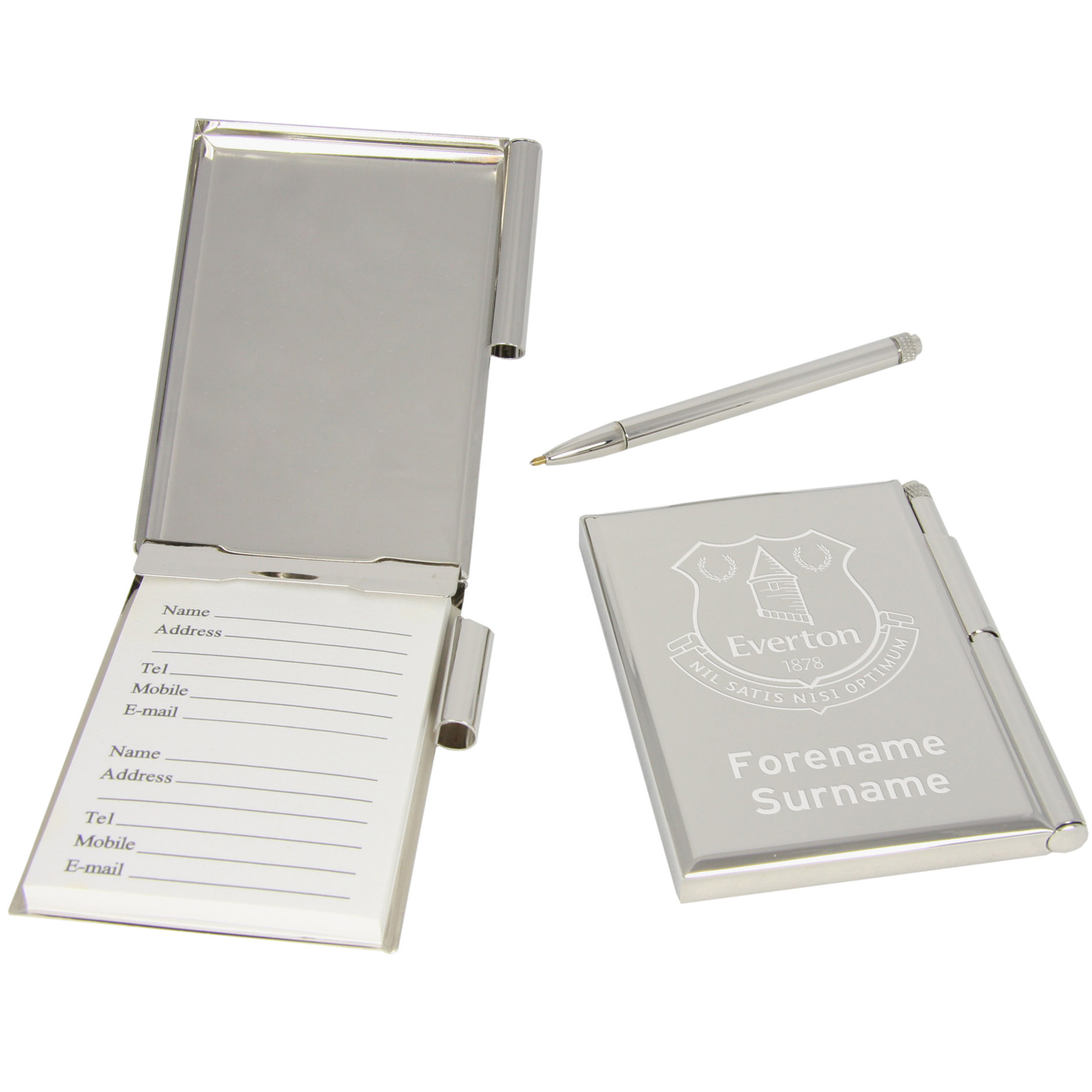 Everton Personalised Address Book