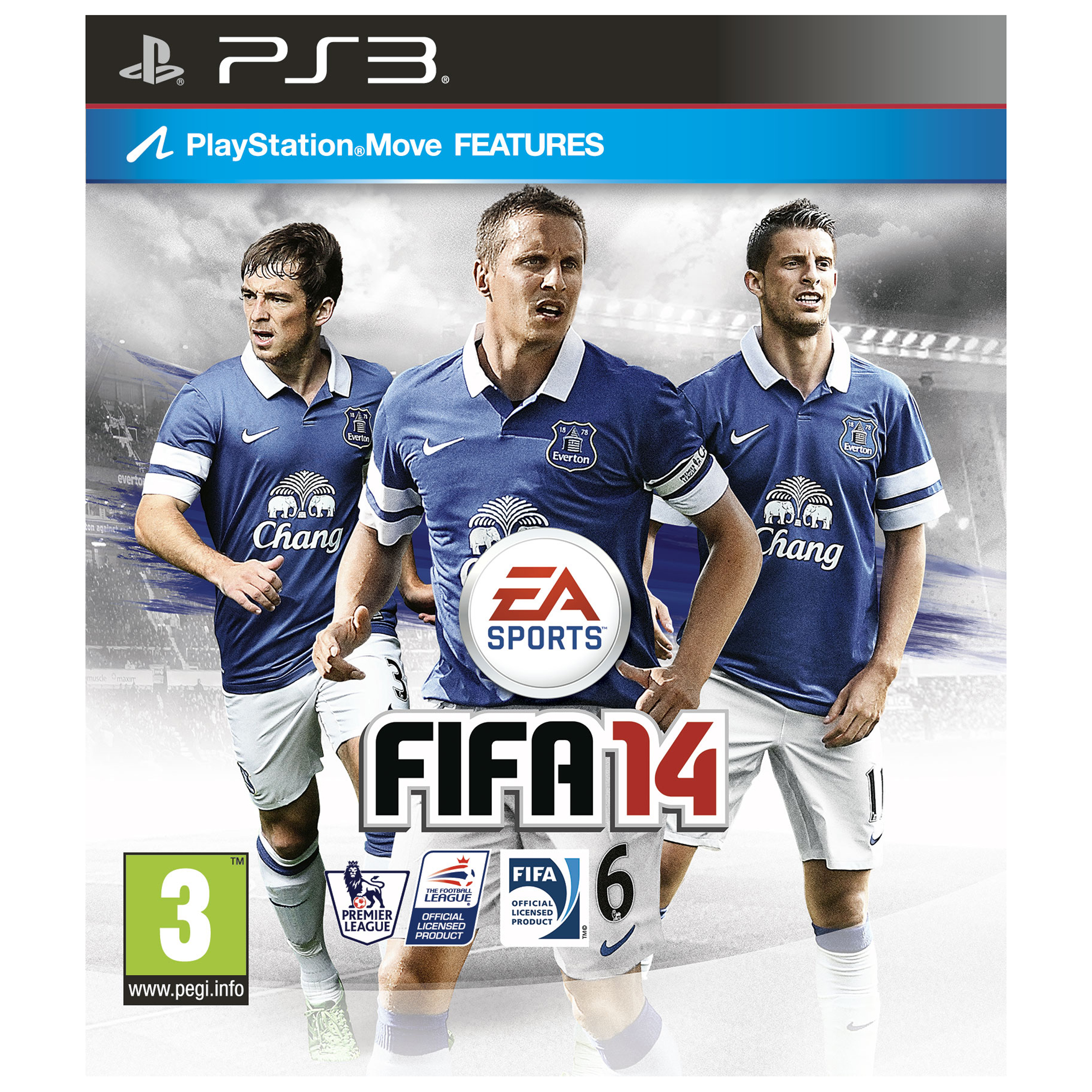 Everton Fifa 14 PS3 Game - EFC Exclusive Cover