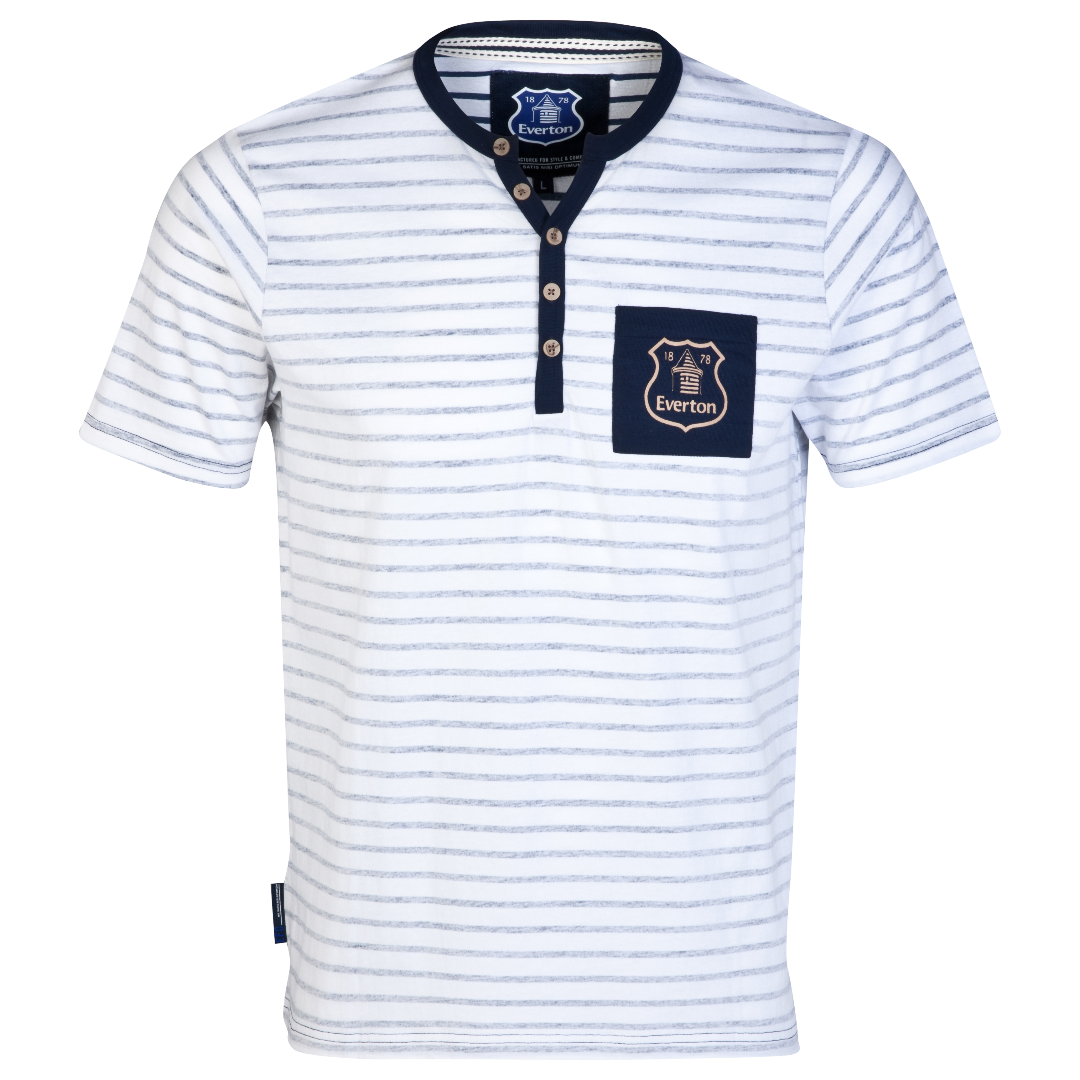 Everton Inner T-Shirt-Mens White