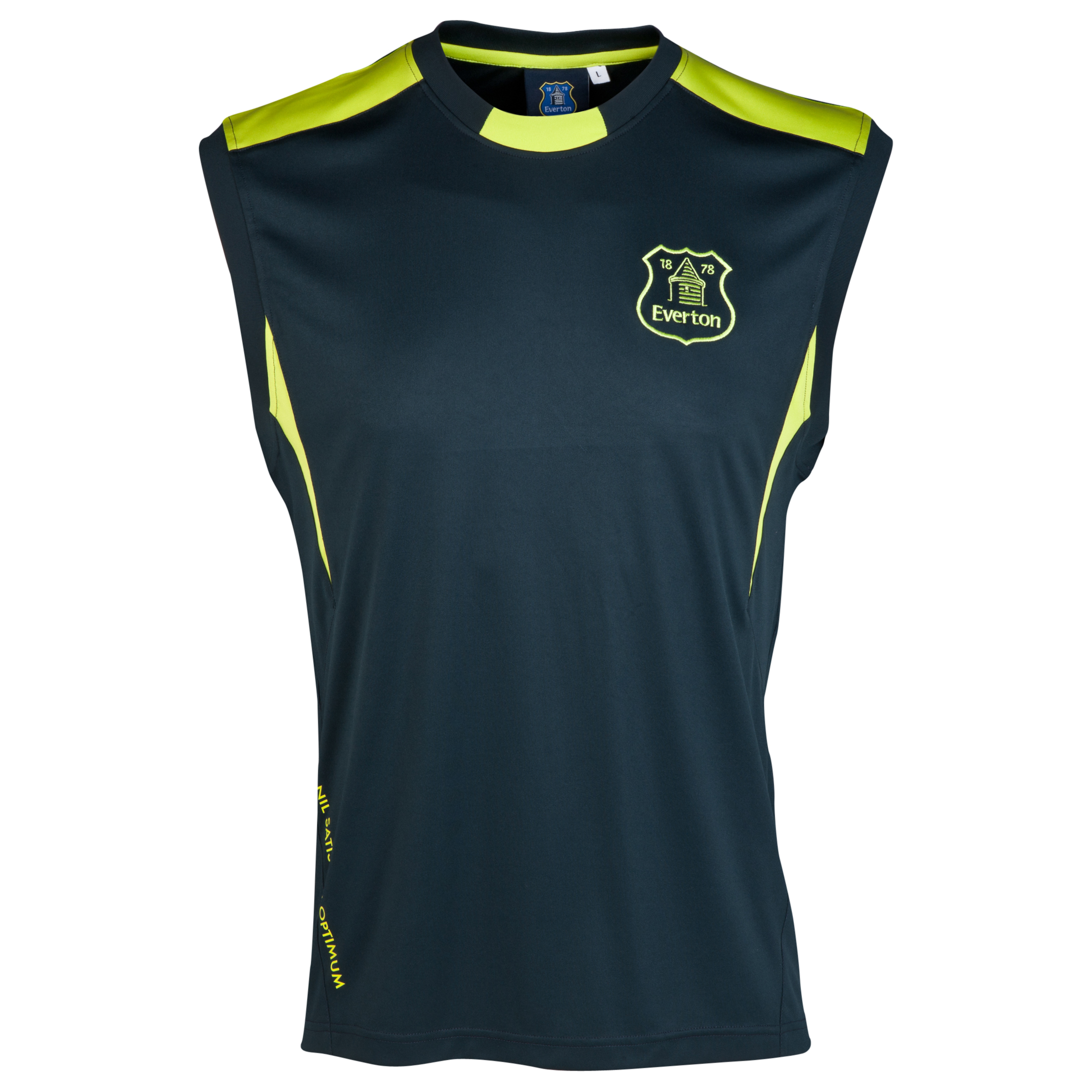 Everton Essentials Ink Vest-Mens Navy