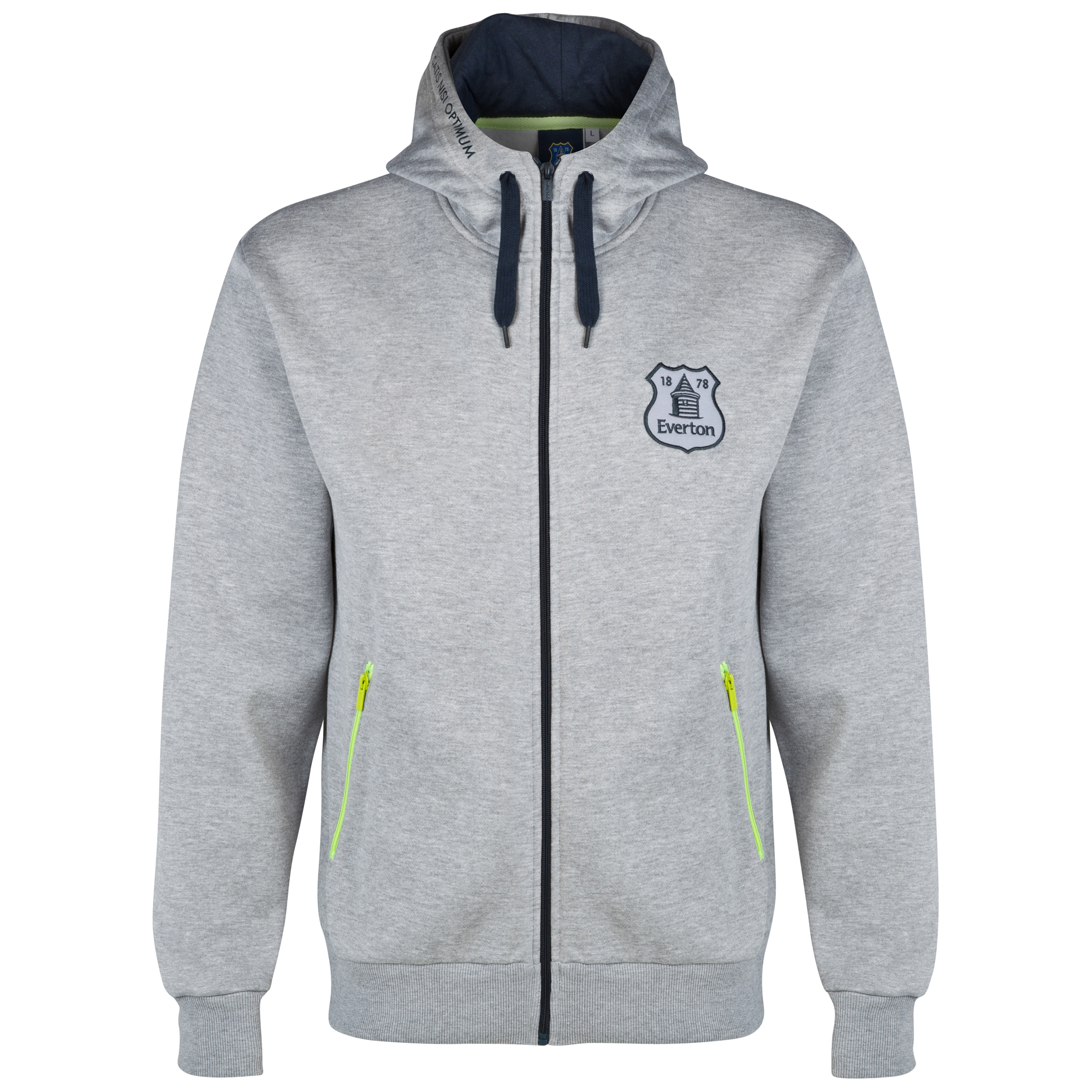 Everton Essentials Shade Hoodie-Mens Lt Grey