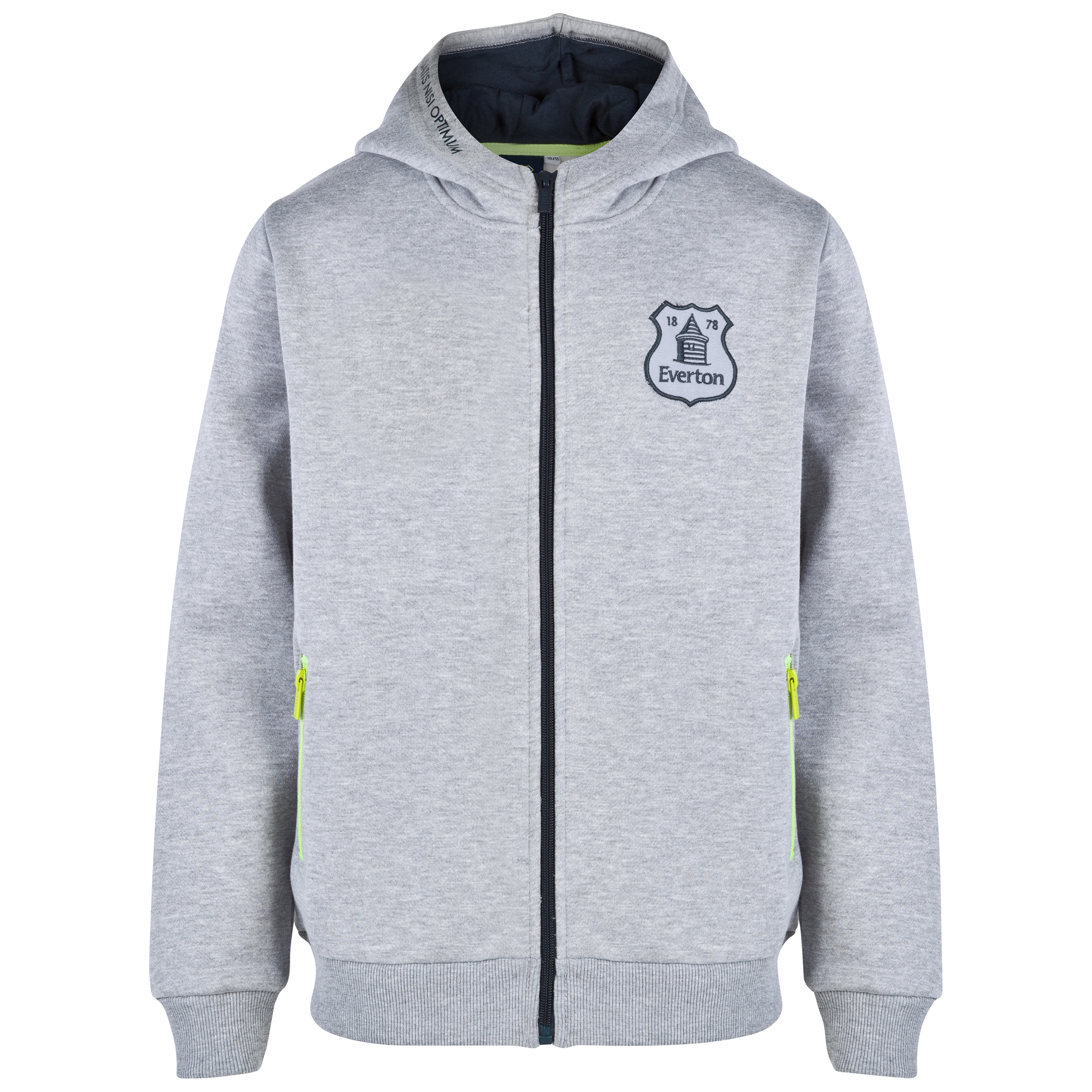 Everton Essentials Shade Hoodie-Older Boys Lt Grey
