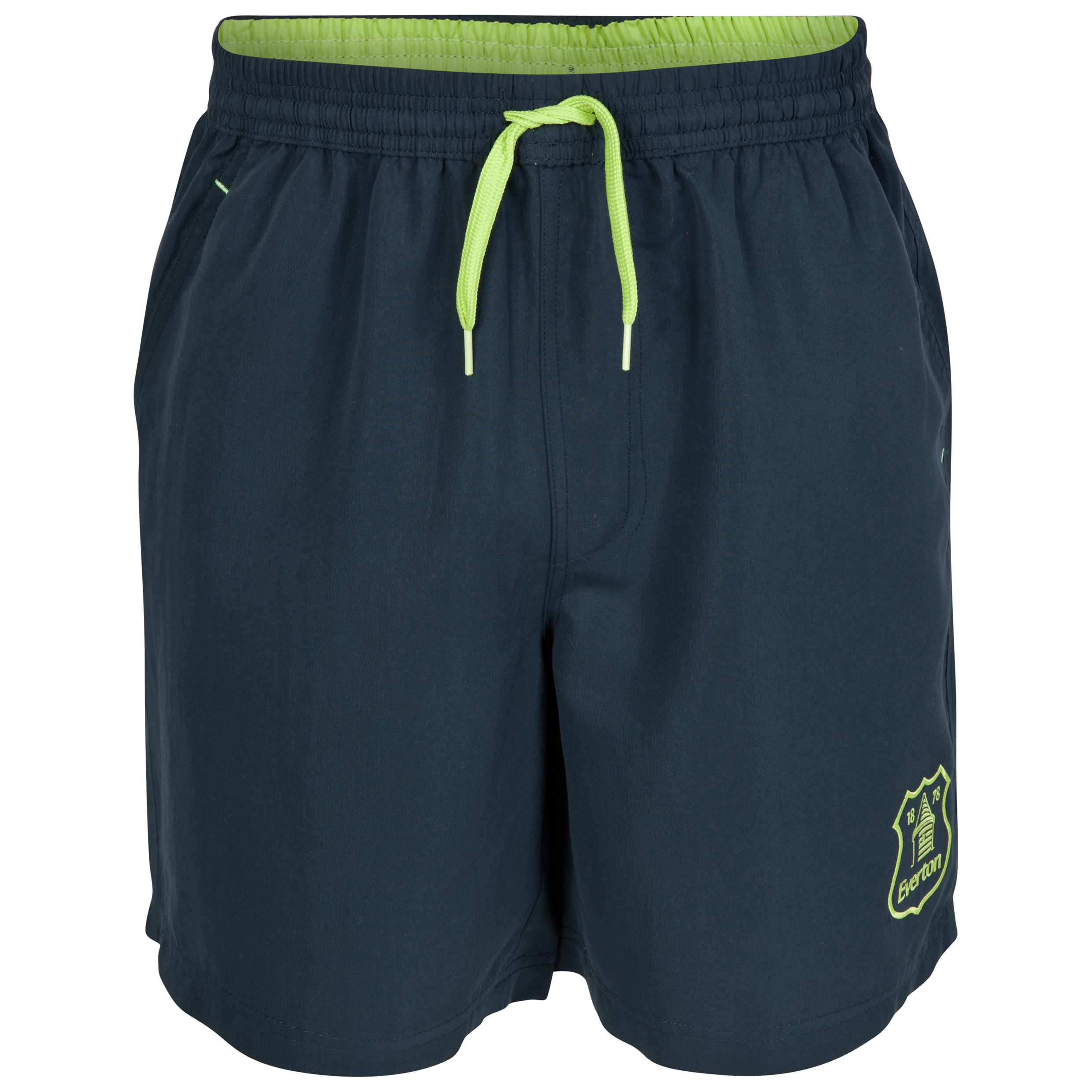 Everton Essentials Vibe Shorts-Mens Navy
