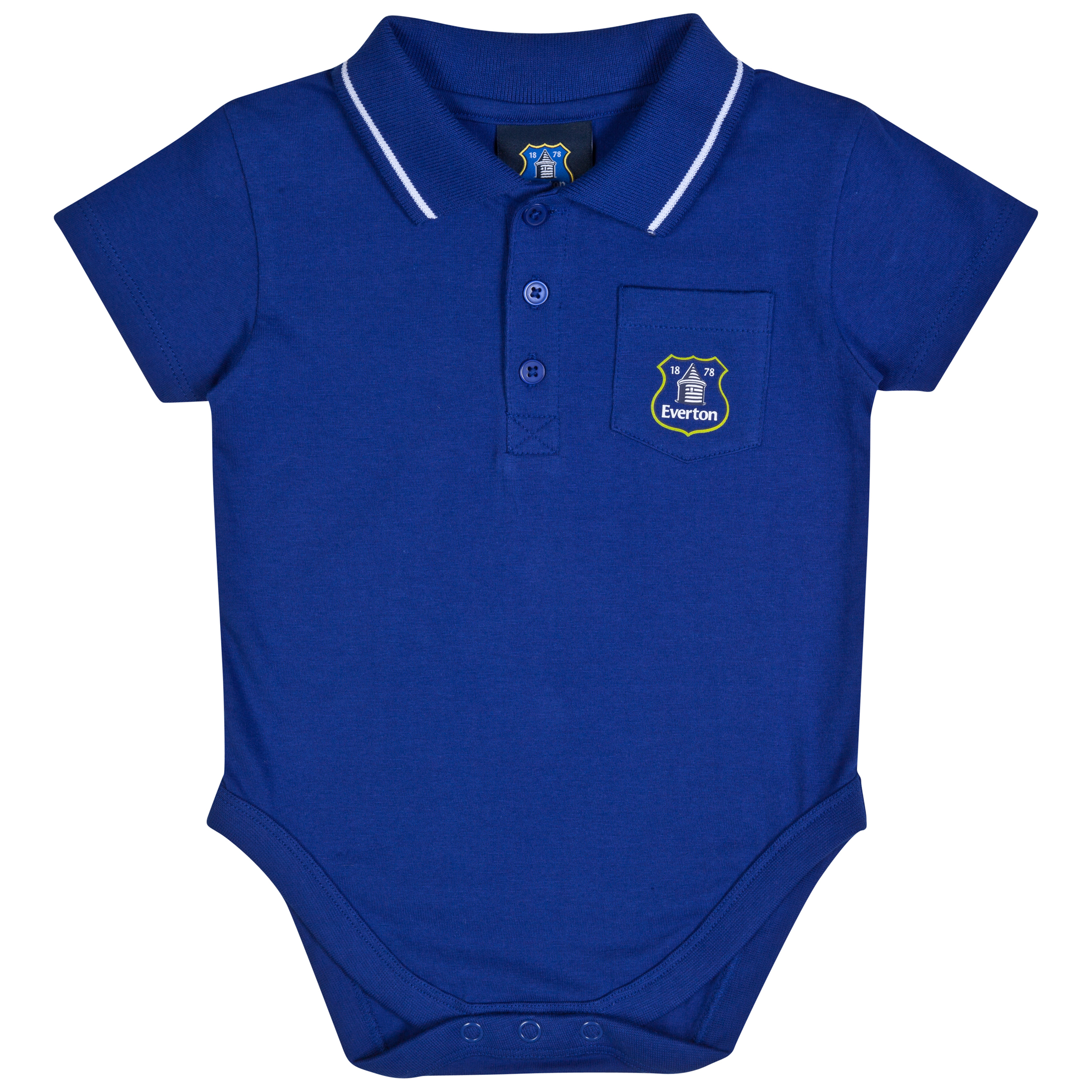 Everton Tommy Bodysuit - Baby Royal Blue