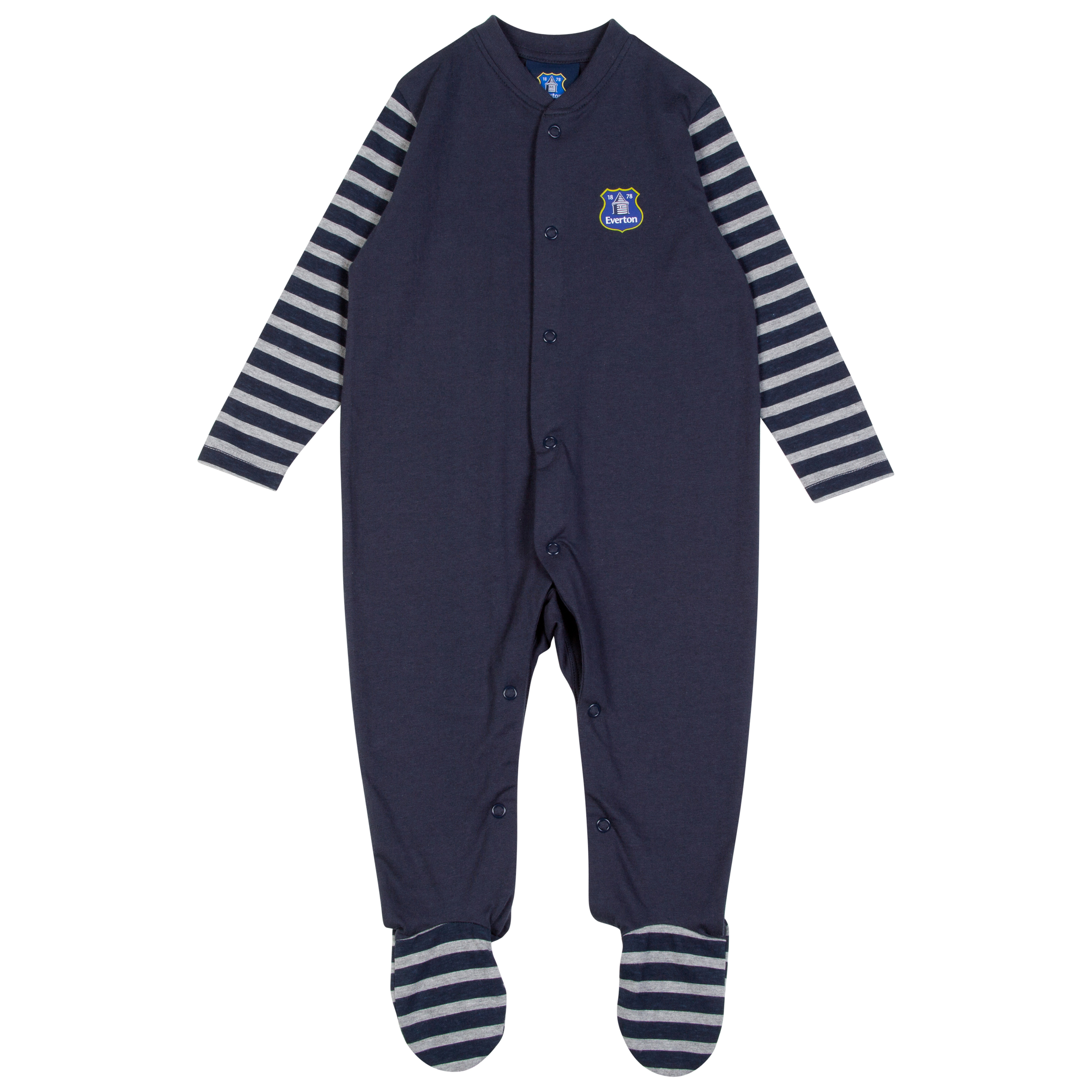 Everton One Sleepsuit-Baby Navy