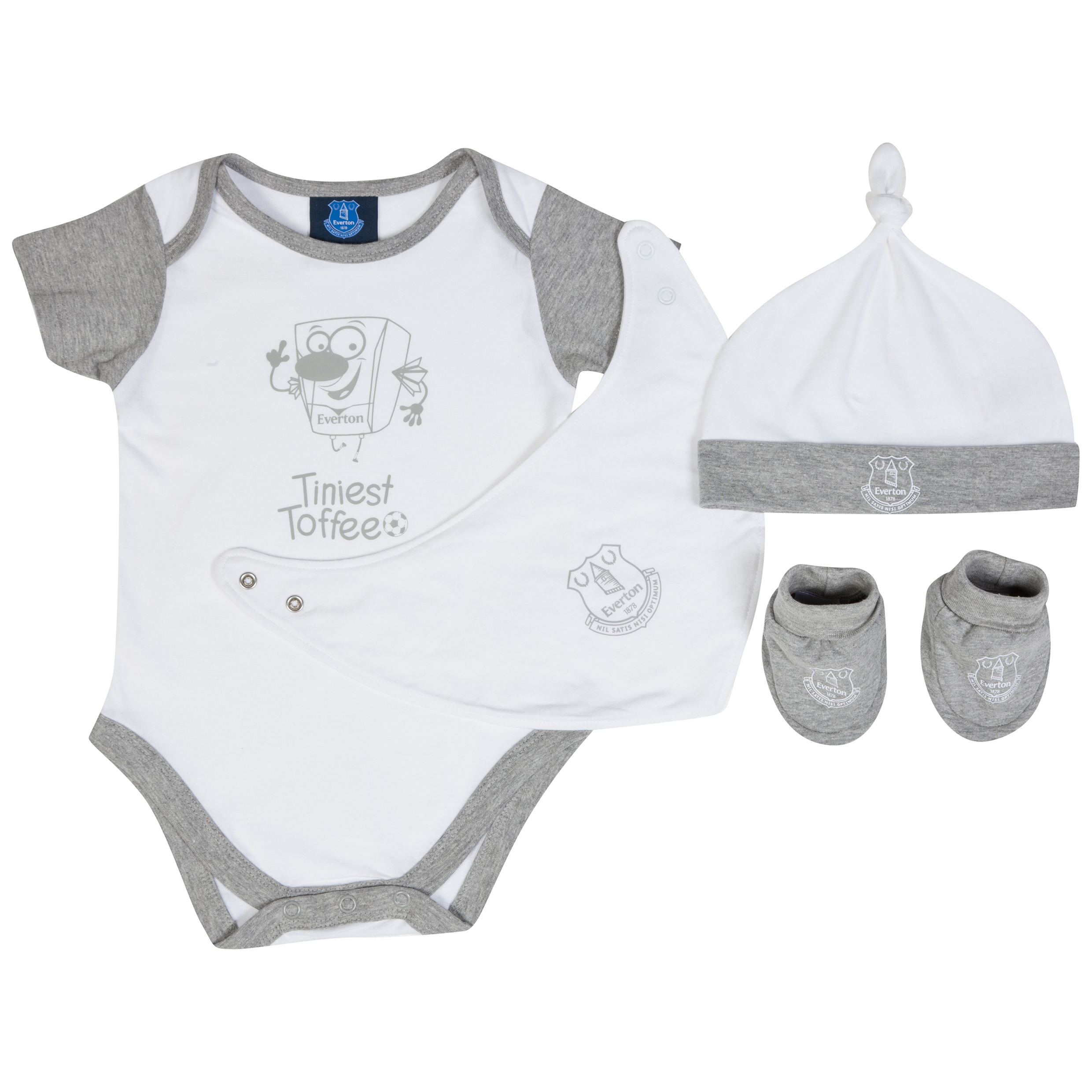 Everton 4PCE Set-Baby White