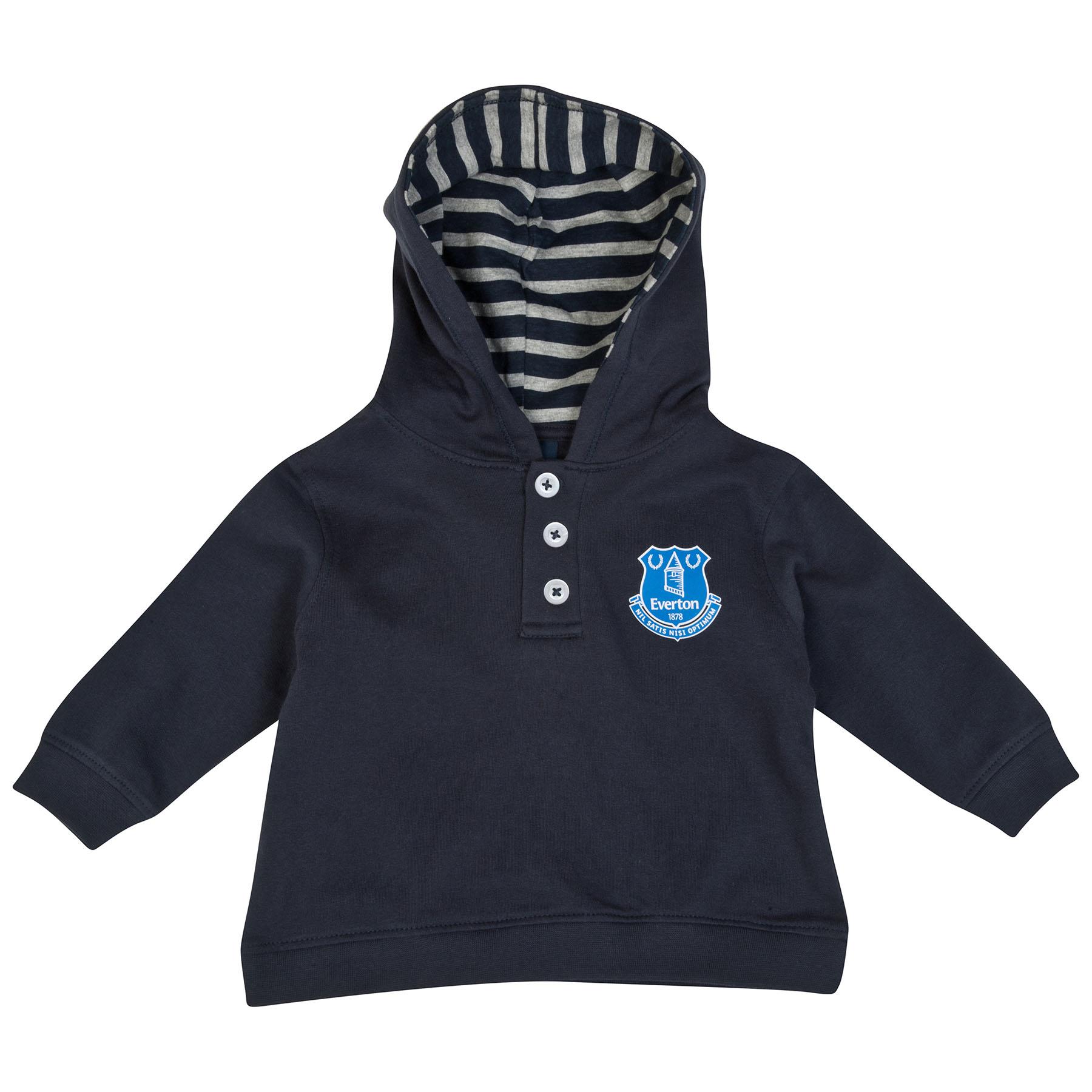 Everton Hoodie-Baby Navy