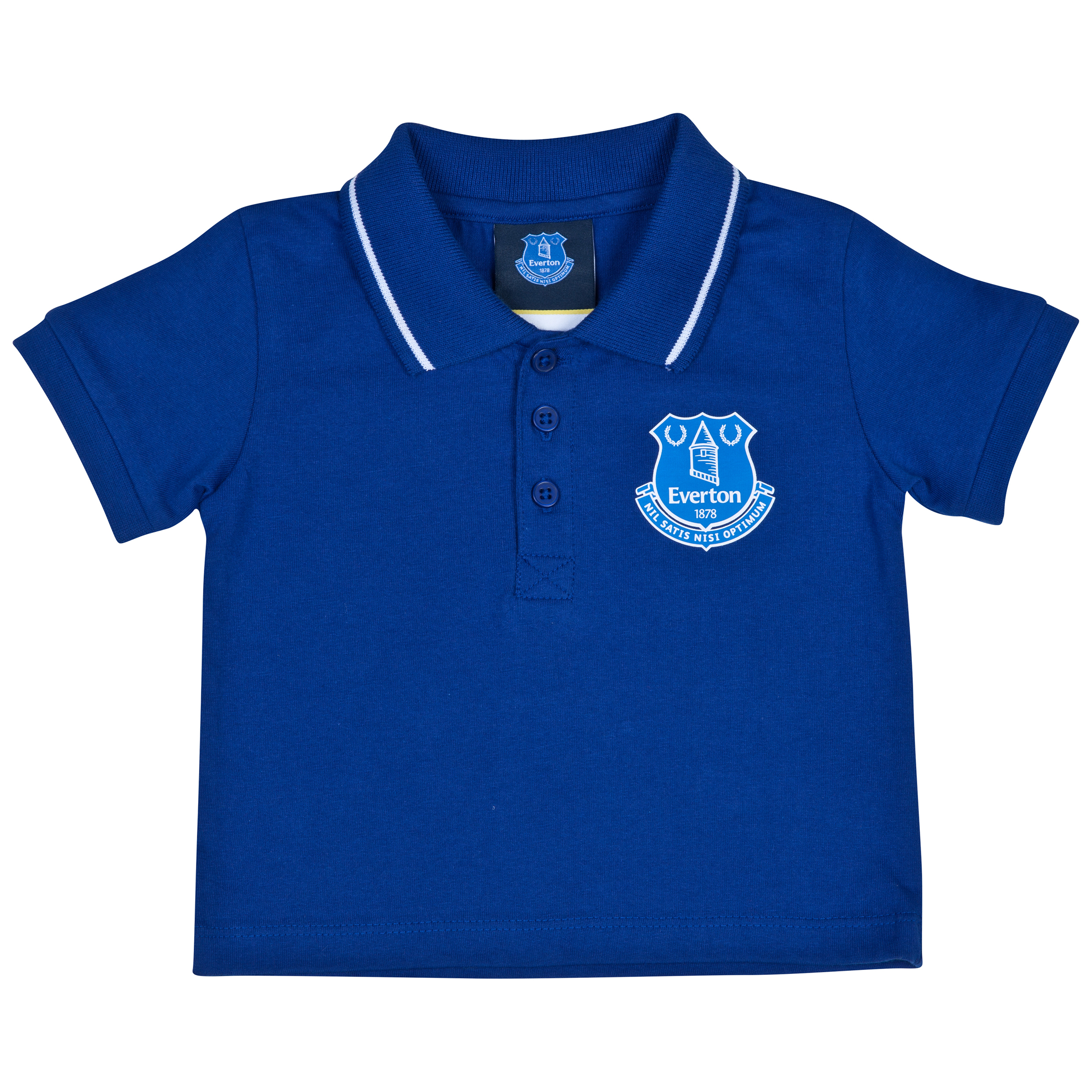 Everton Polo Shirt-baby Blue
