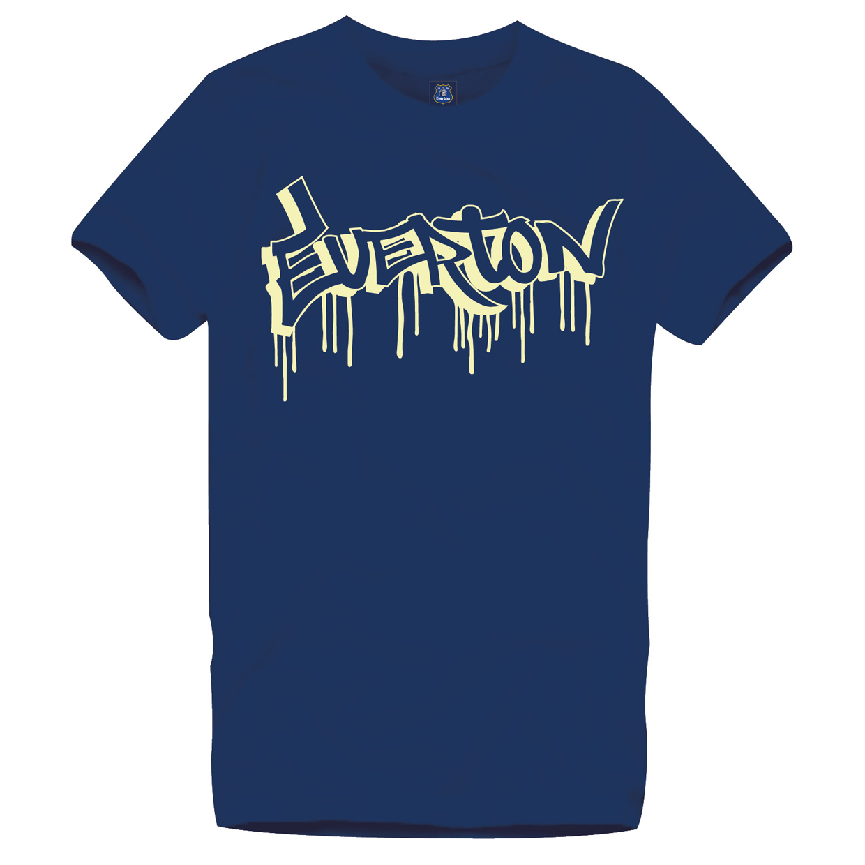 Everton 2 for 15 Glow T- Junior Navy