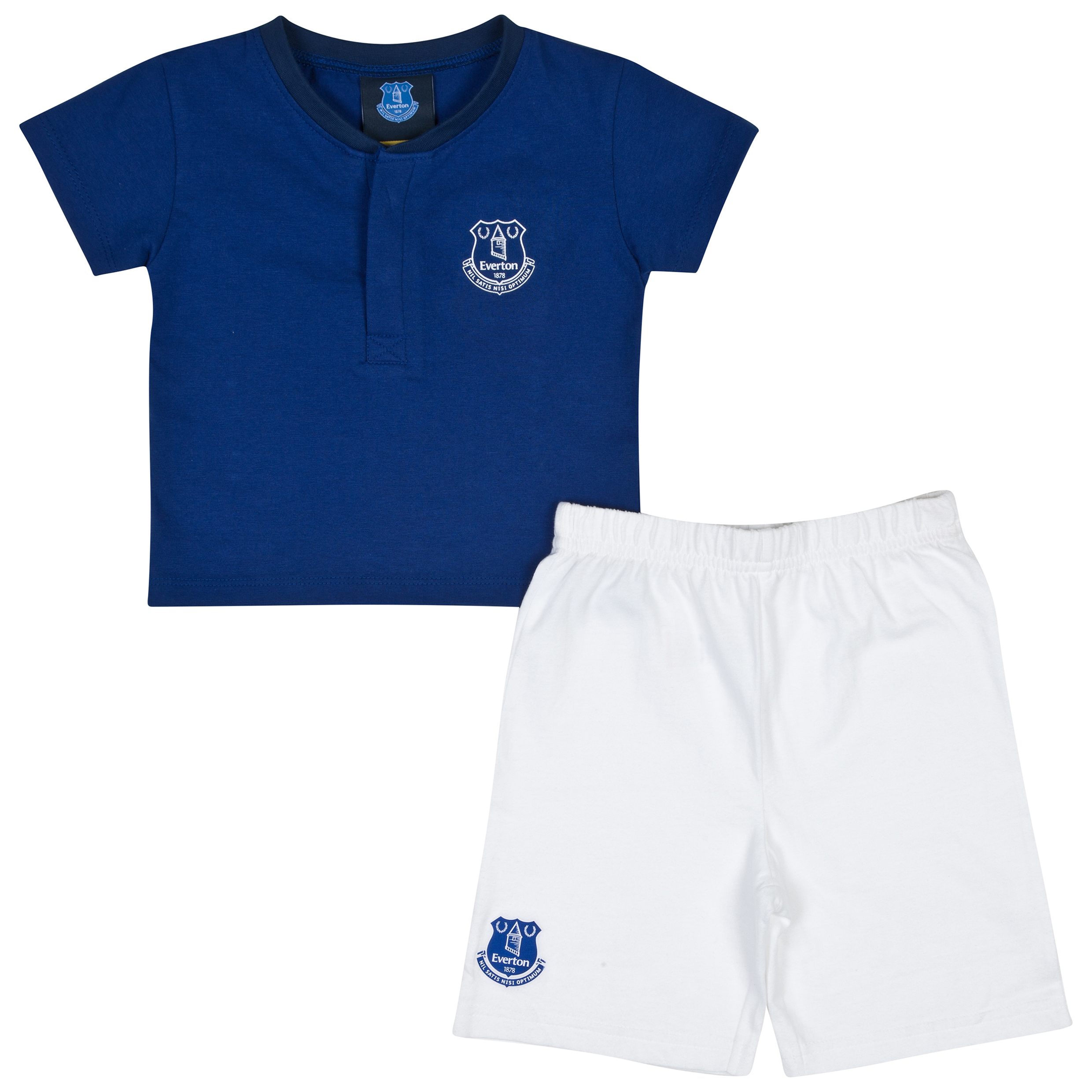 Everton 14/15 Kit Pyjamas - Everton Blue/White - Baby