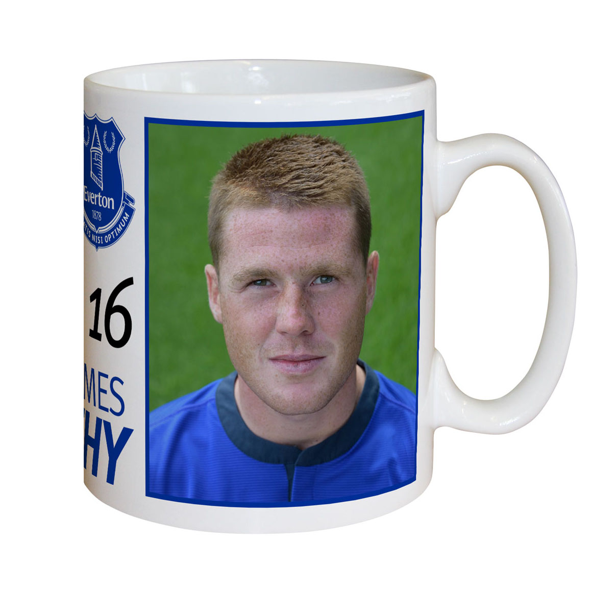 Everton Personalised Signature Mug - McCarthy