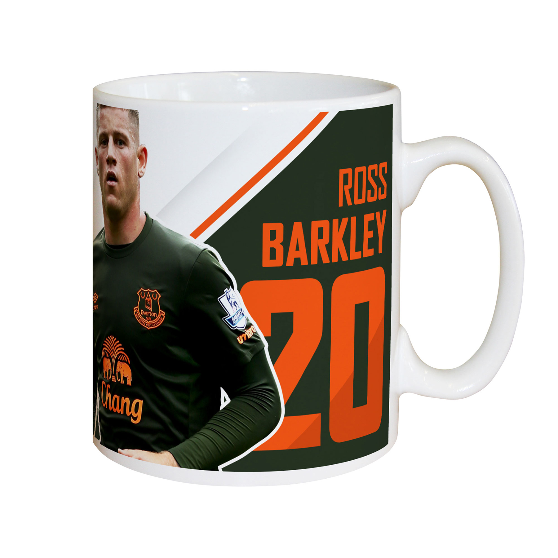 Everton Personalised Signature Mug - Barkley