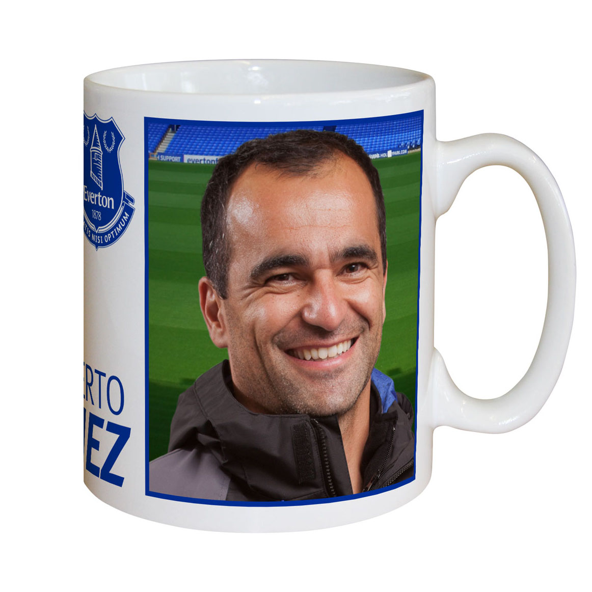 Everton Personalised Signature Mug - Martinez