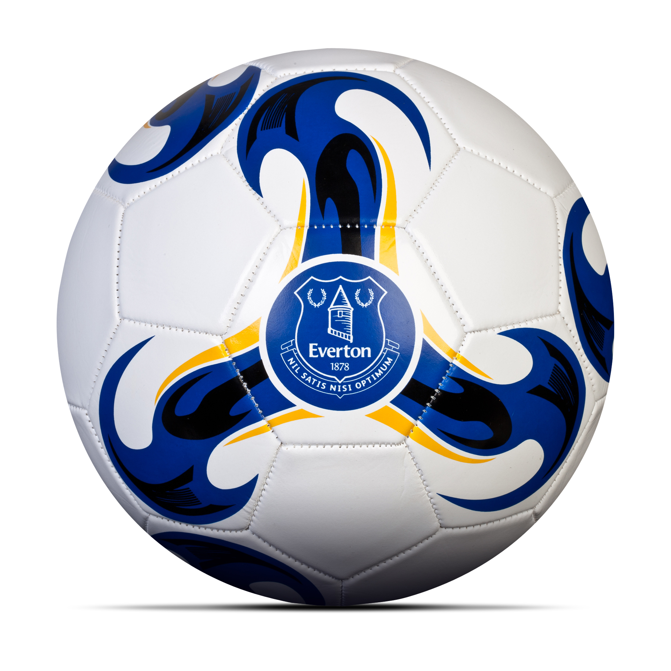 Everton Football - Size 5 - White/Royal