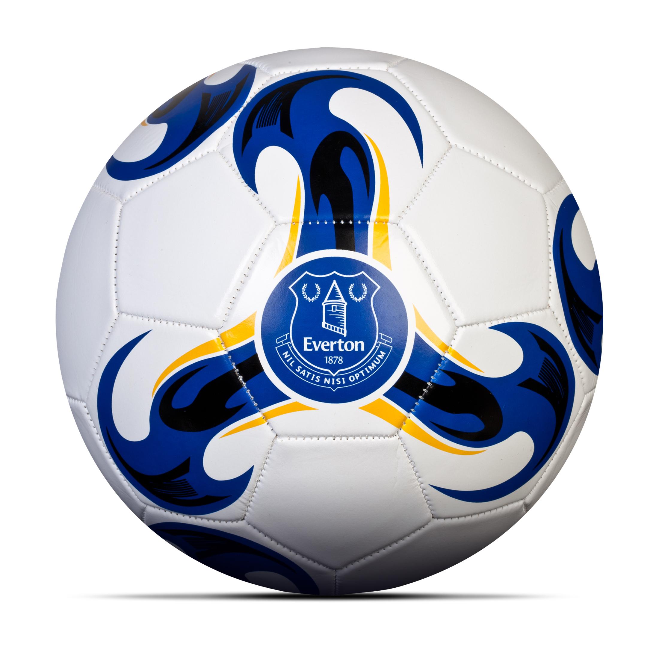 Everton Football - Size 5 - White/Royal