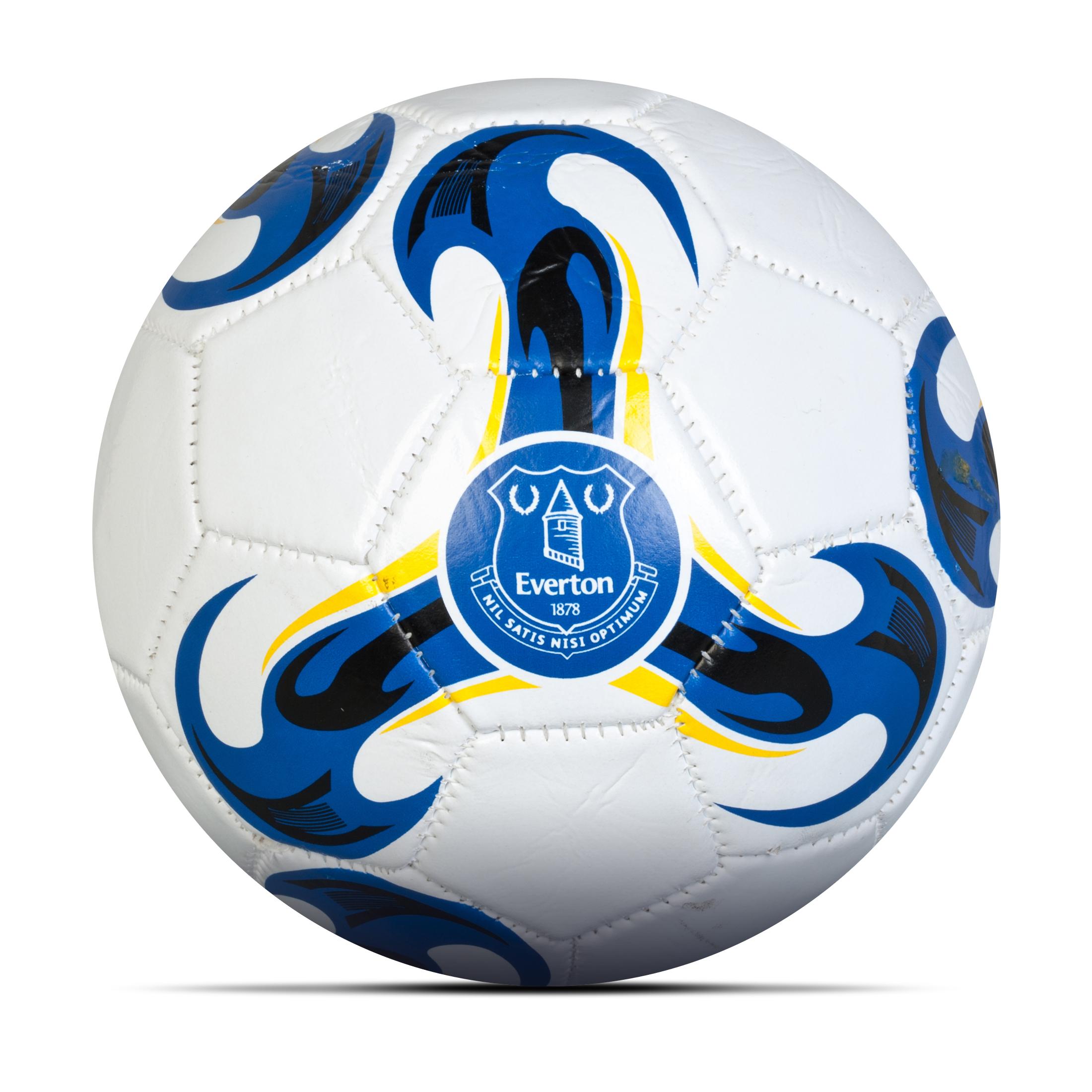 Everton Football - Size 2 - White/ Royal