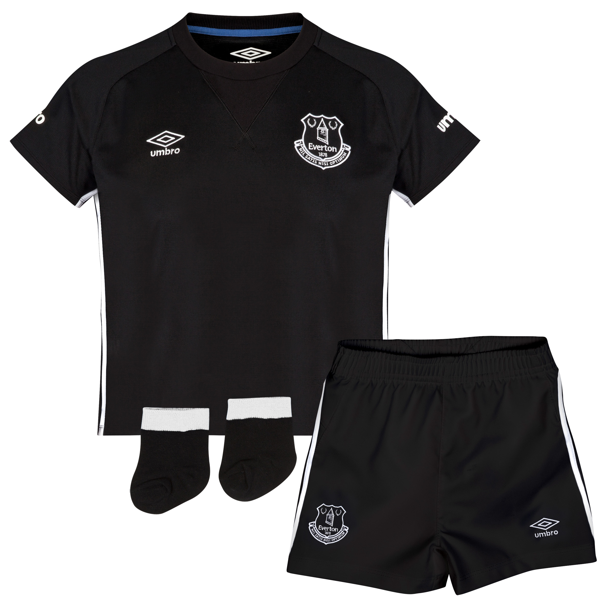 Everton Away Baby Kit 2014/15