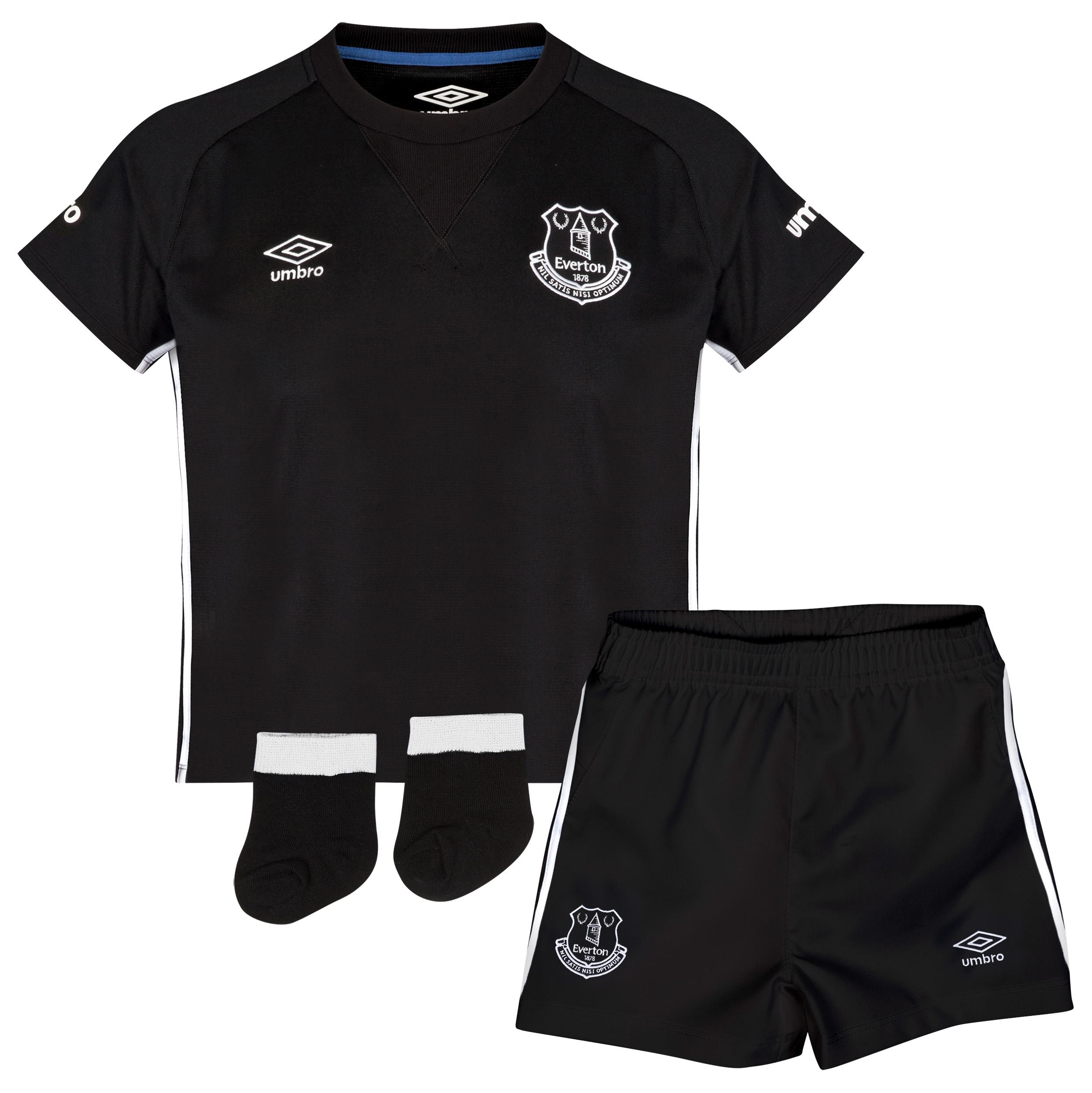 Everton Away Baby Kit 2014/15