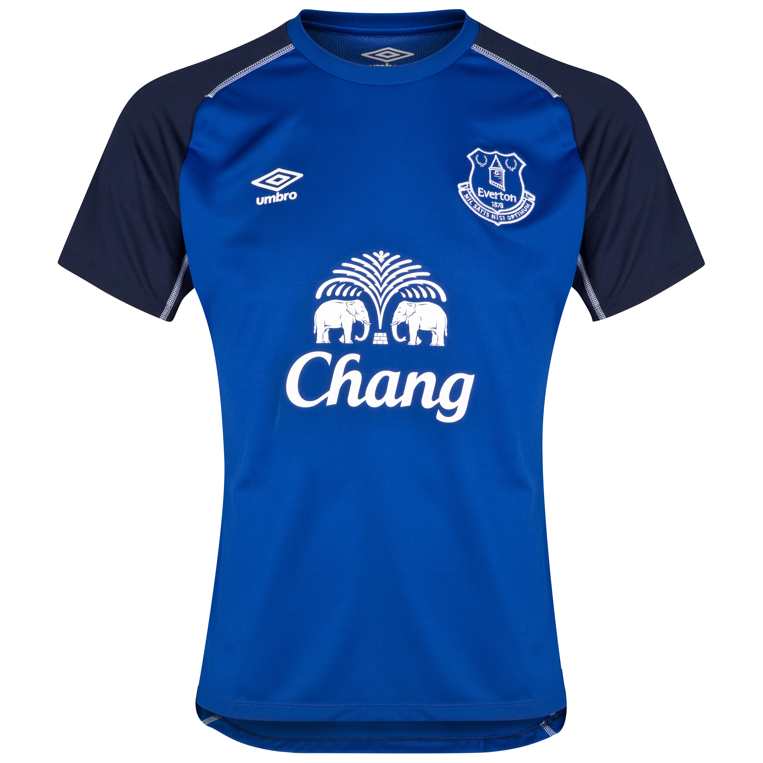 Everton Training Jersey-Deep Surf/Dark Navy