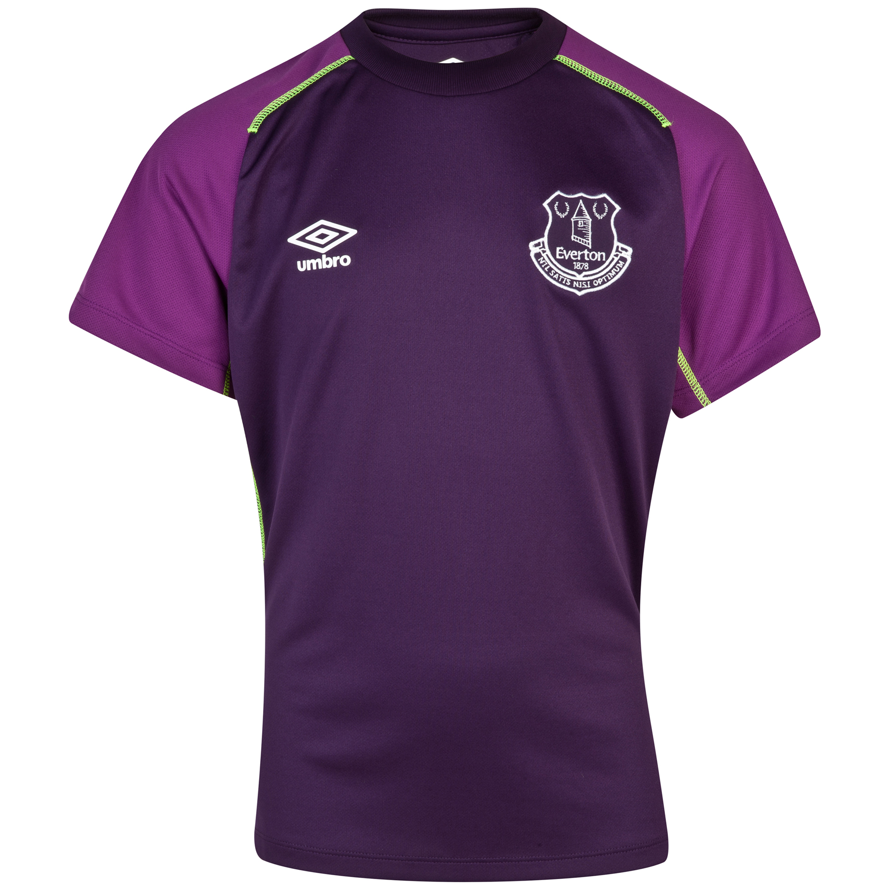 Everton Training Jersey - Junior-Grapejuice/Blackberry Cordial
