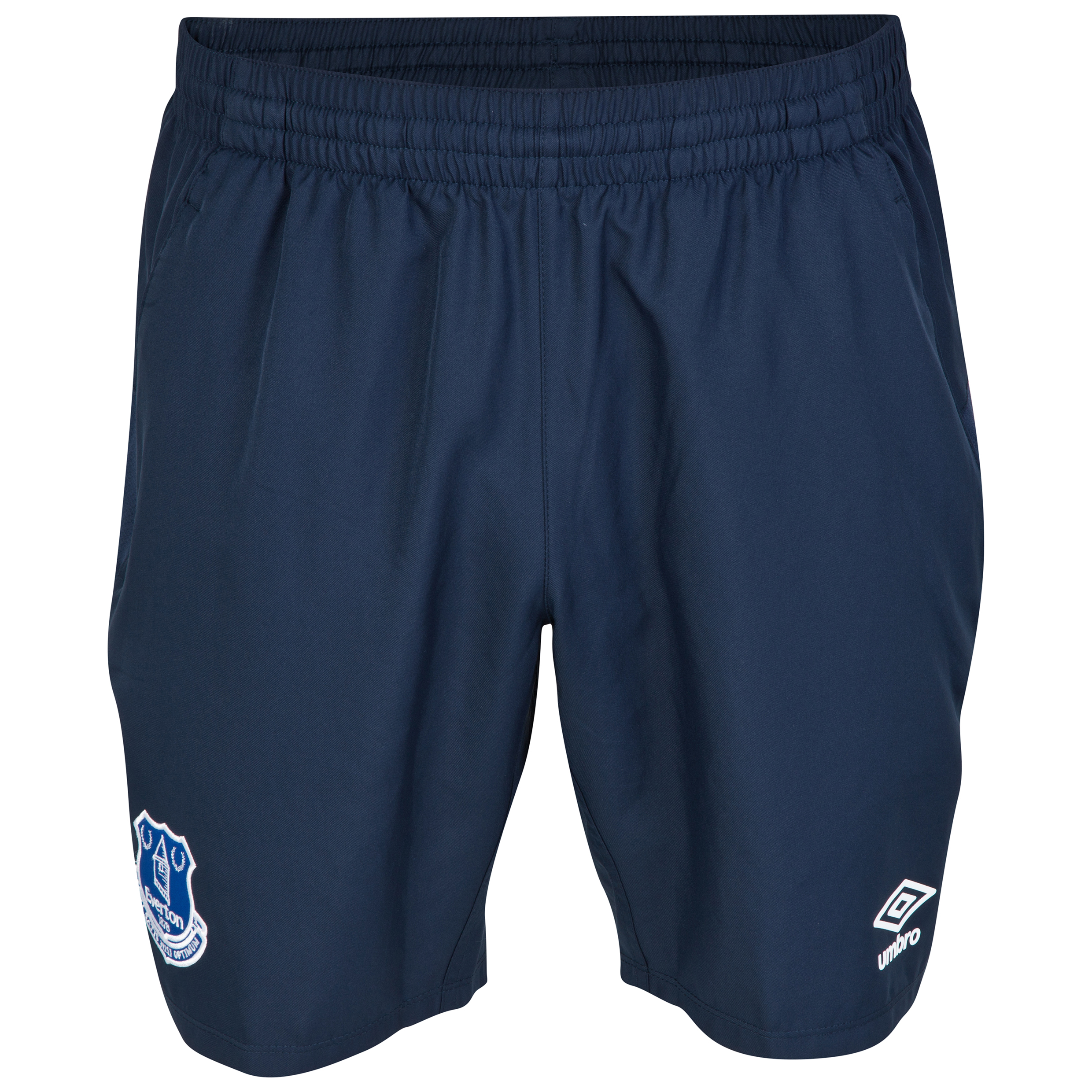 Everton Training Woven Short - Junior-Dark Navy