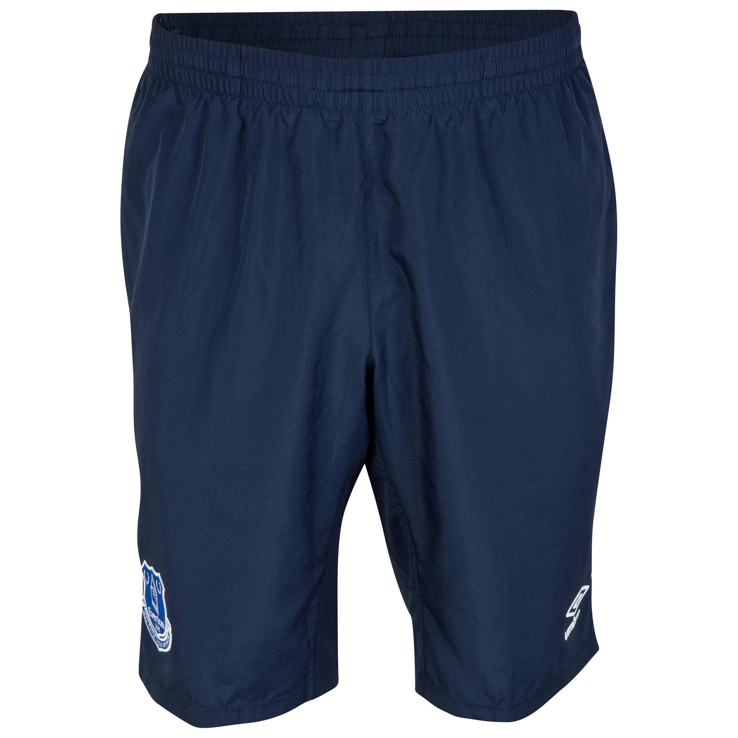 Everton Long Knit Short - Junior-Dark Navy