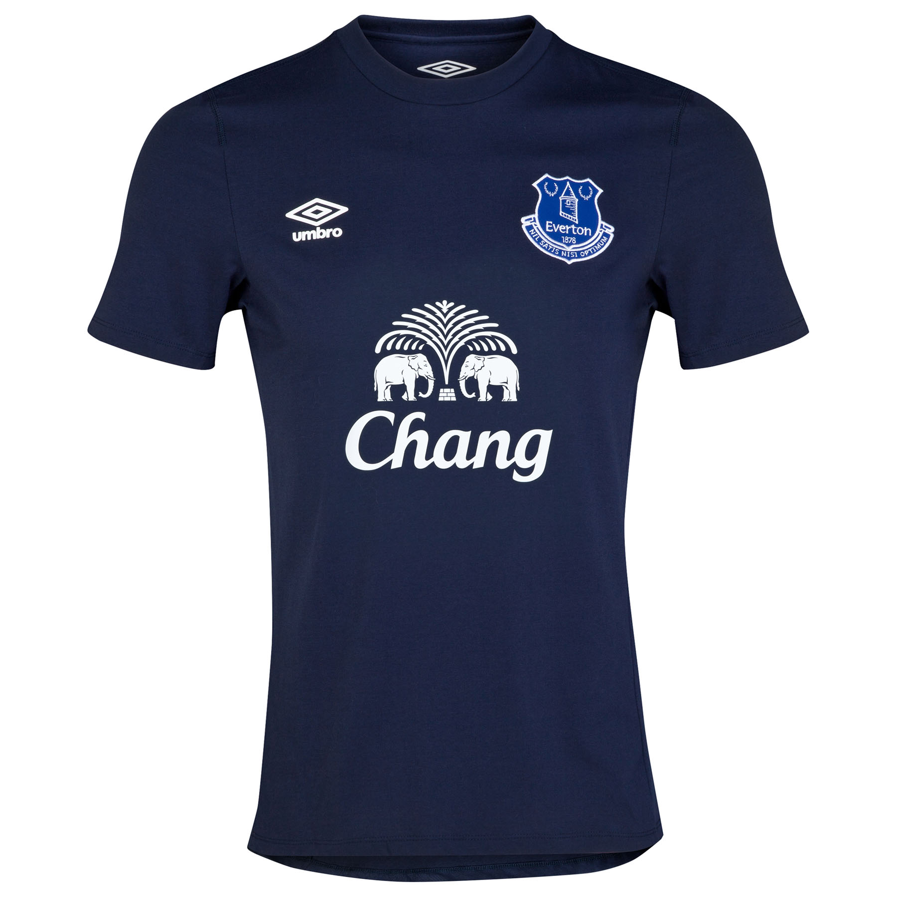 Everton Travel T-Shirt-Dark Navy