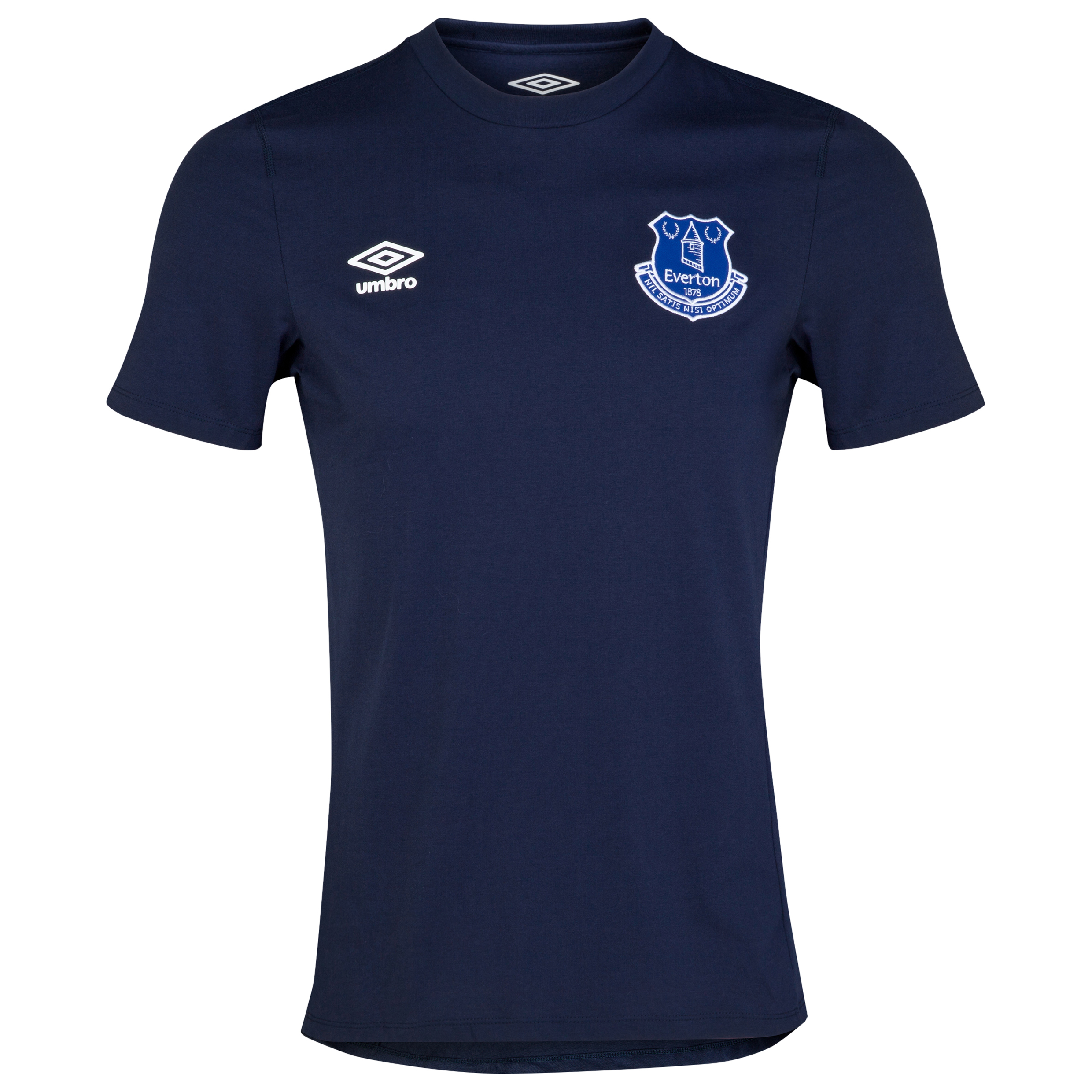 Everton Travel Tee - Junior-Dark Navy