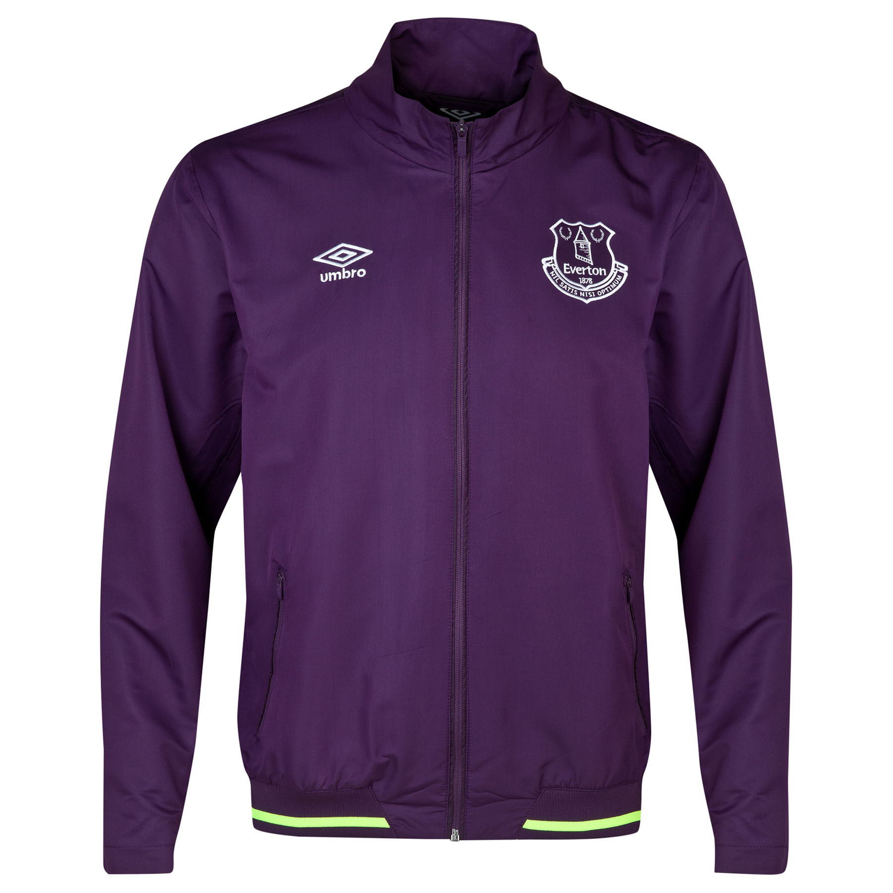 Everton Anthem Jacket-Blackberry Cordial