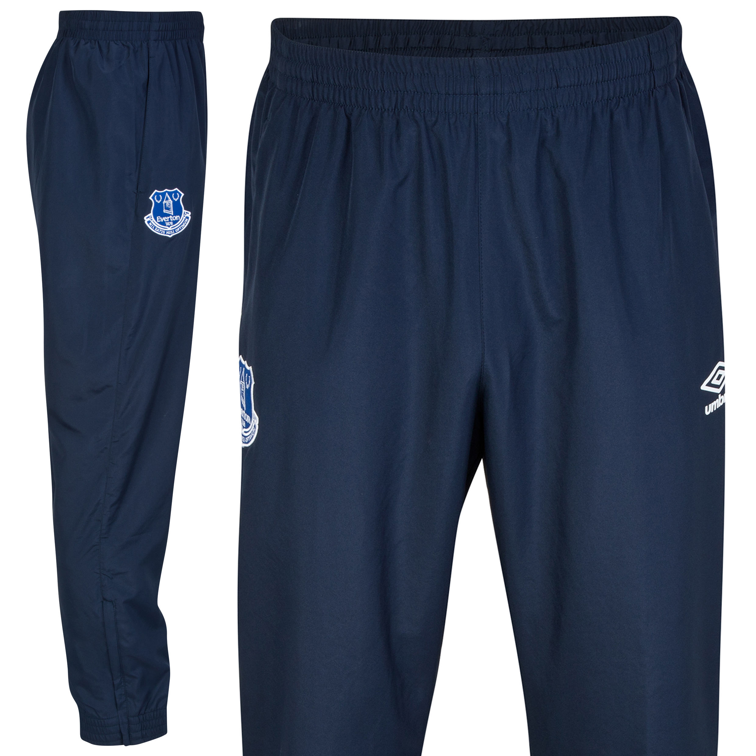 Everton Bench Woven Trackpant-Dark Navy