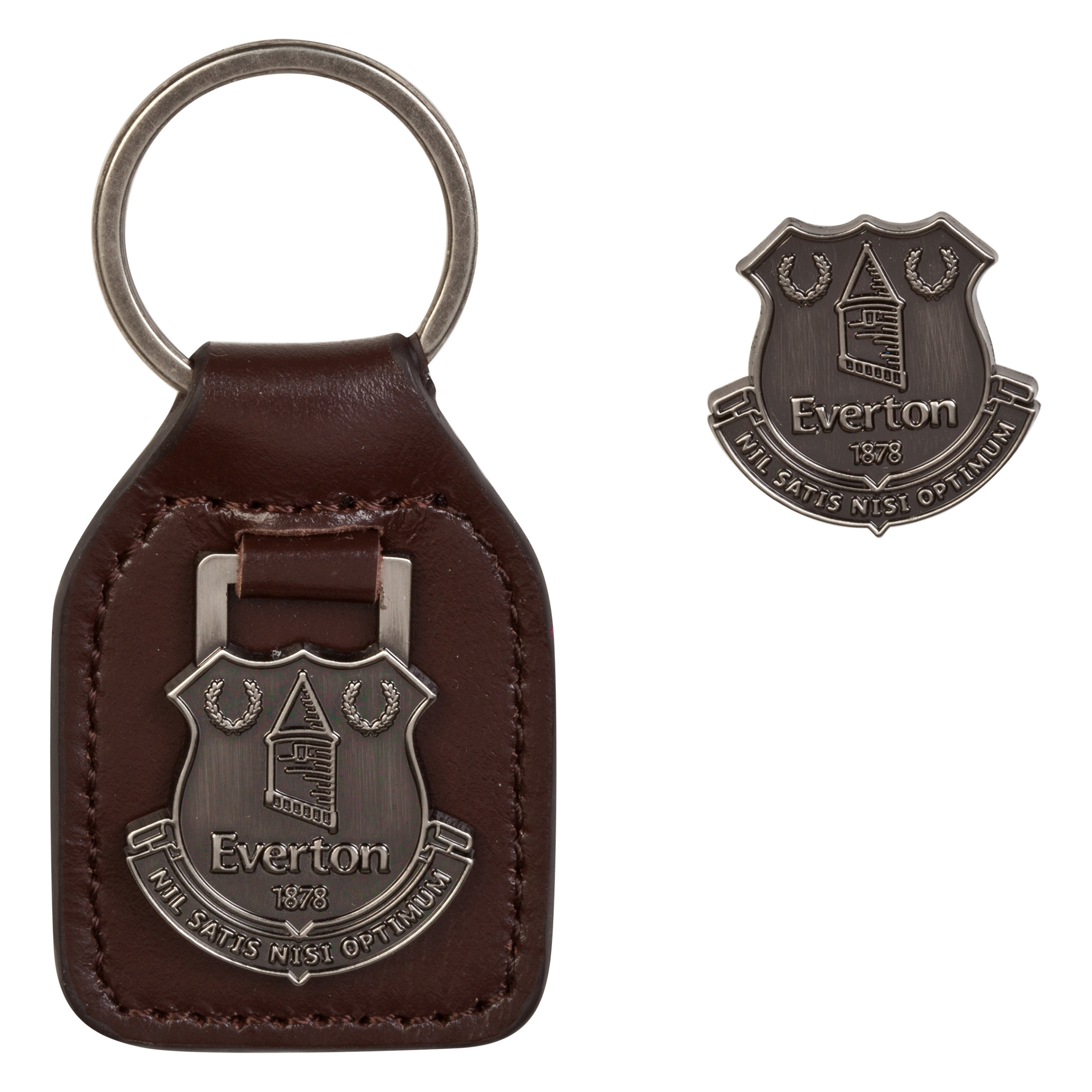 Everton Retro Keyring Set