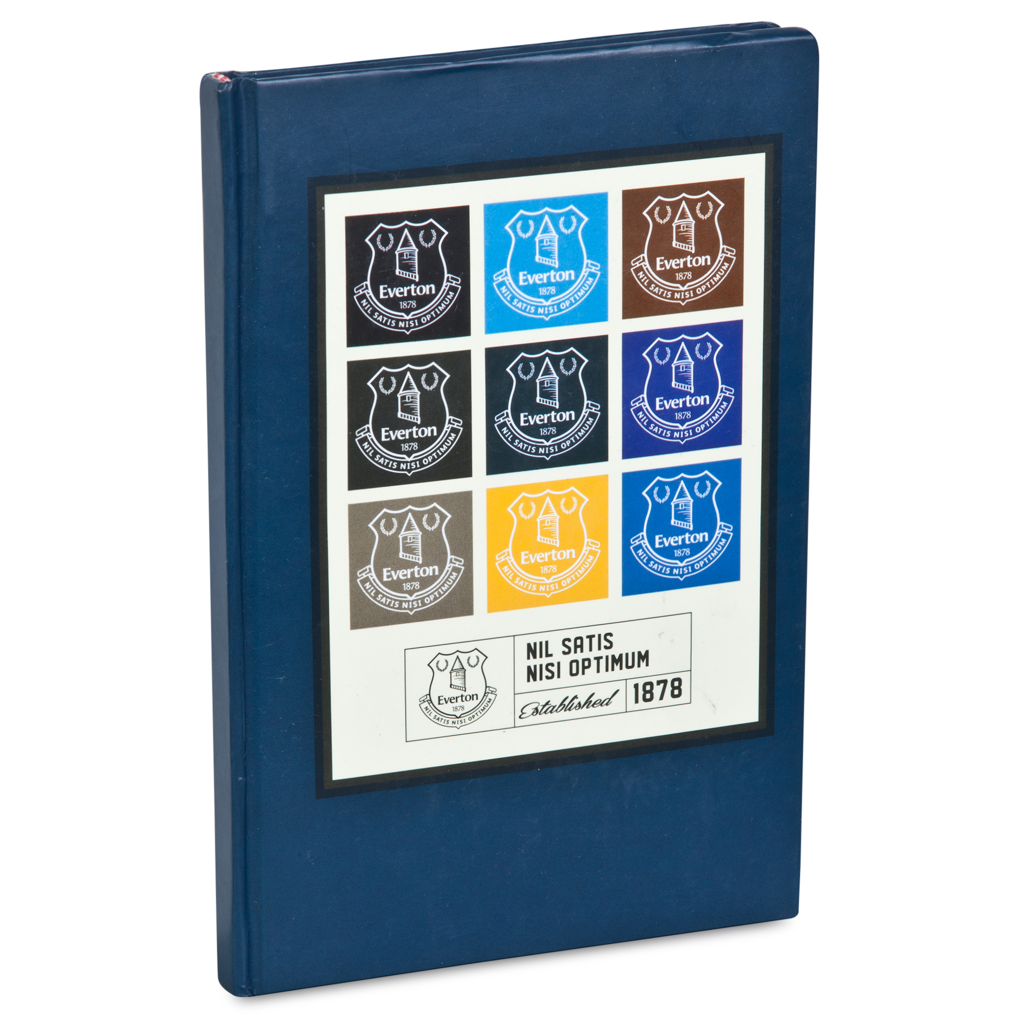 Everton Retro Note Pad  12.5cm X 18.5 cm