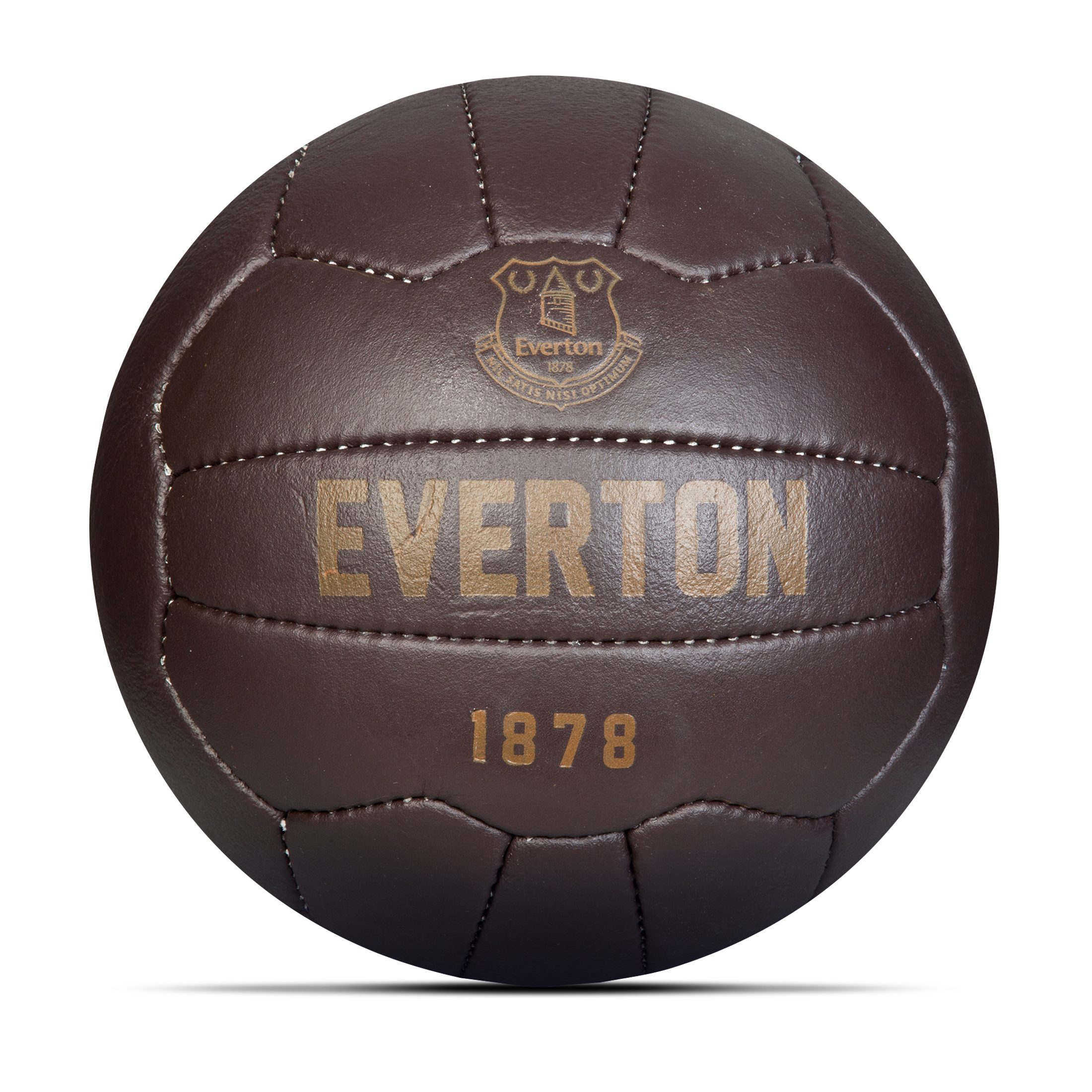 Everton Retro Leather Football