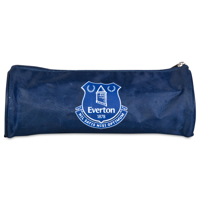 Everton Barrel Pencil Case