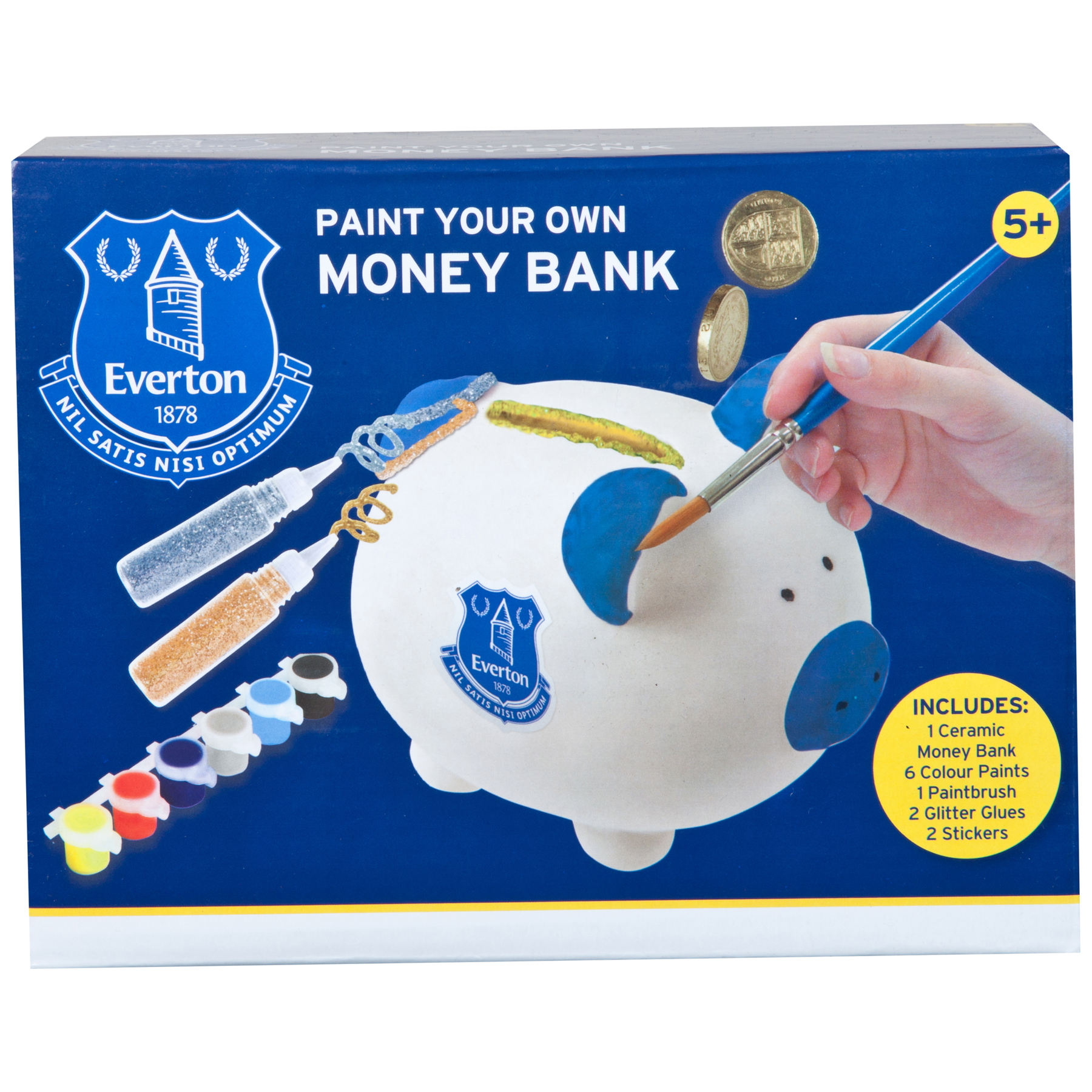Everton Paint your own pig moneybox