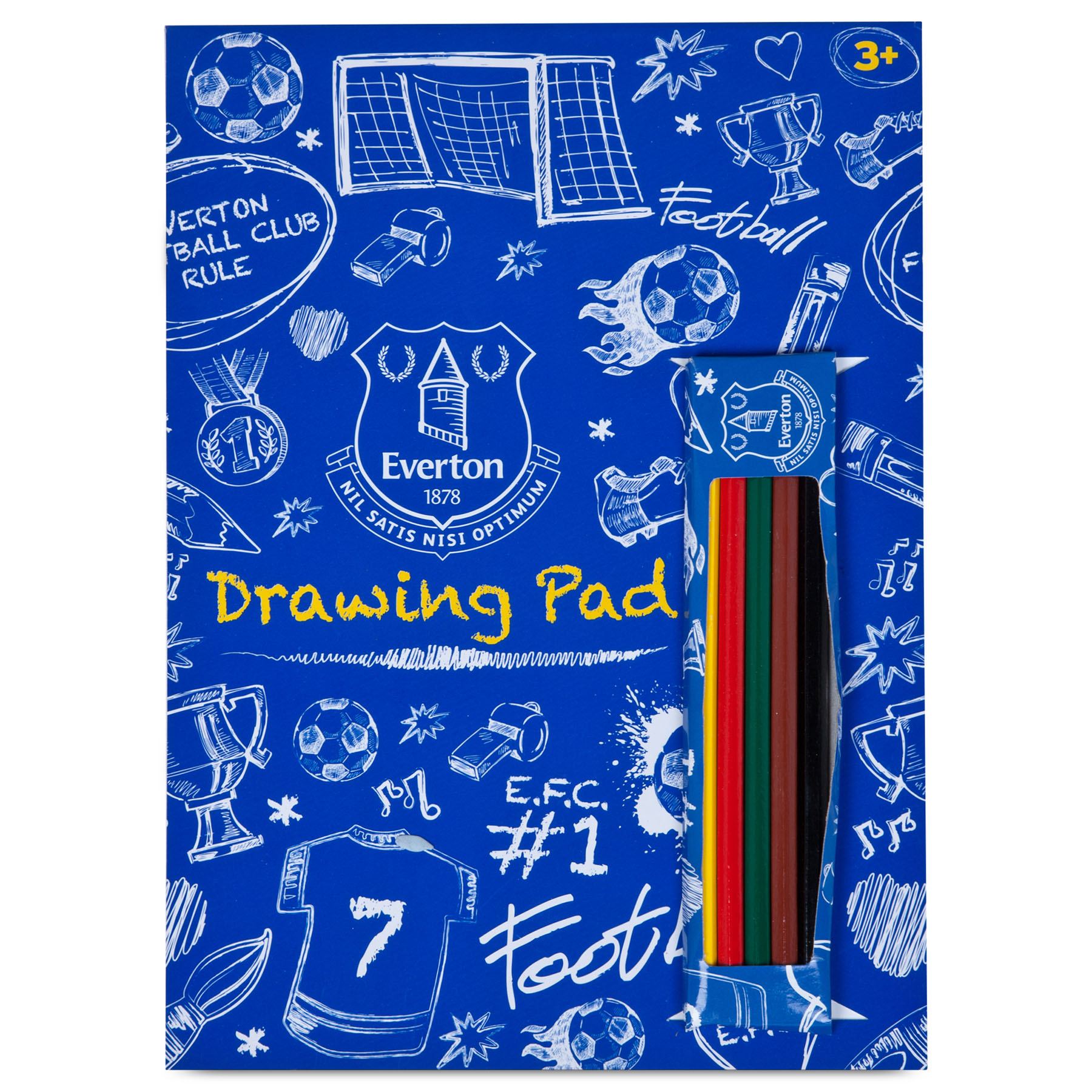 Everton Colouring book and pencils