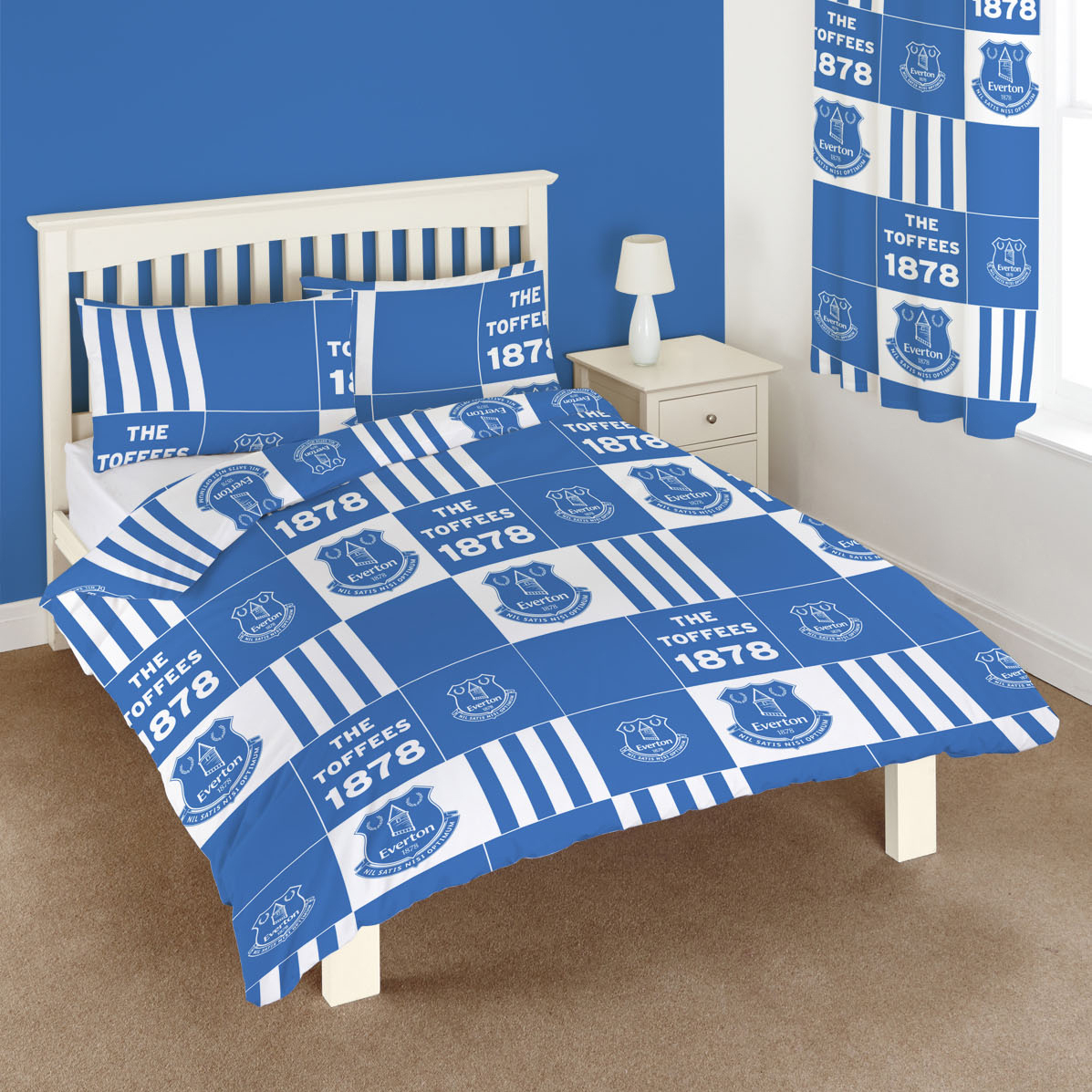 Everton Patchwork Double Duvet