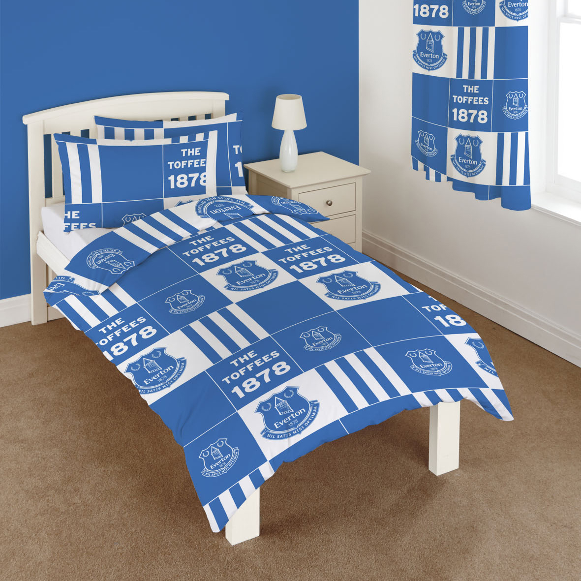 Everton Patchwork Single Duvet