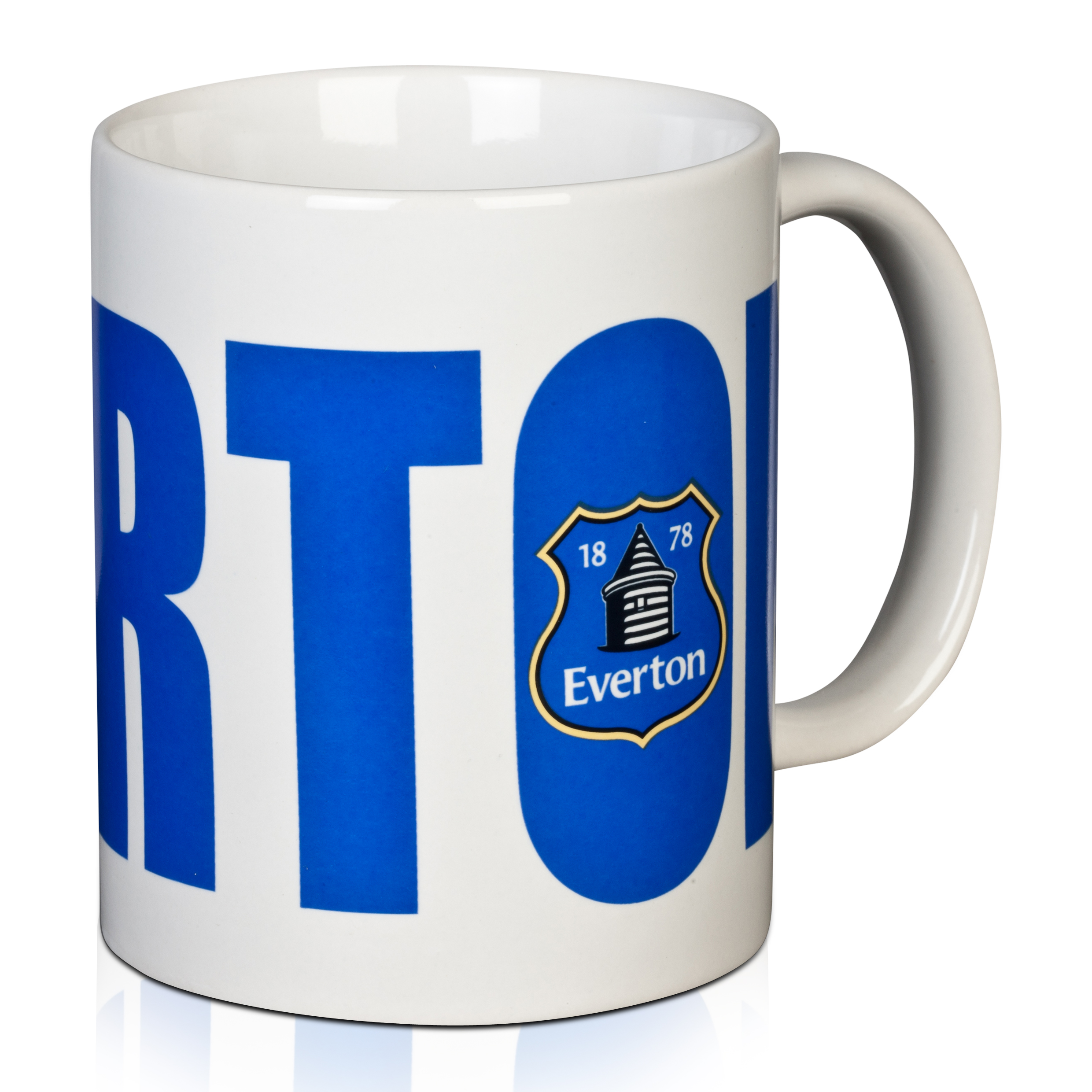 Everton Bold Wordmark Mug 11oz