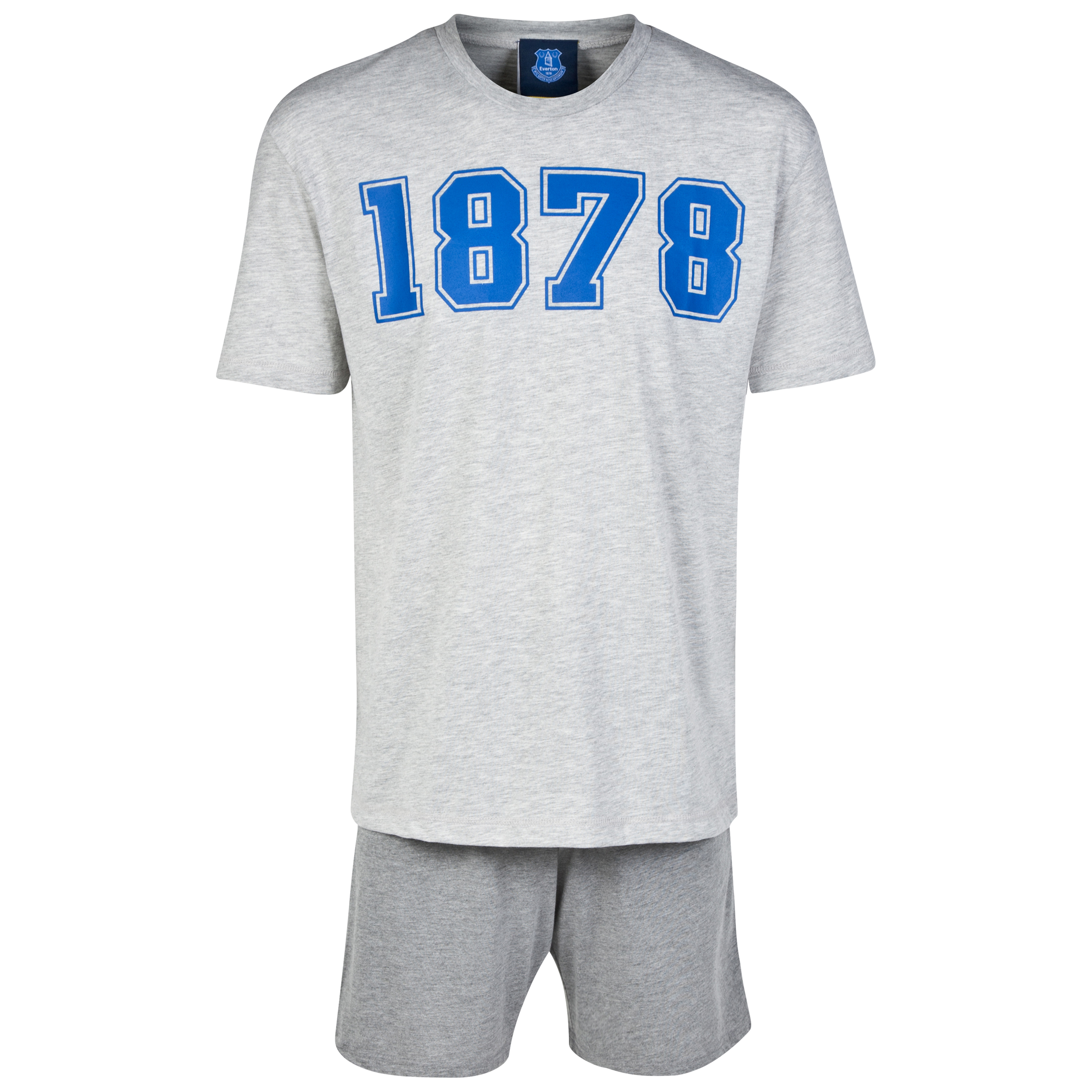 Everton Short Pyjamas - Grey - Mens