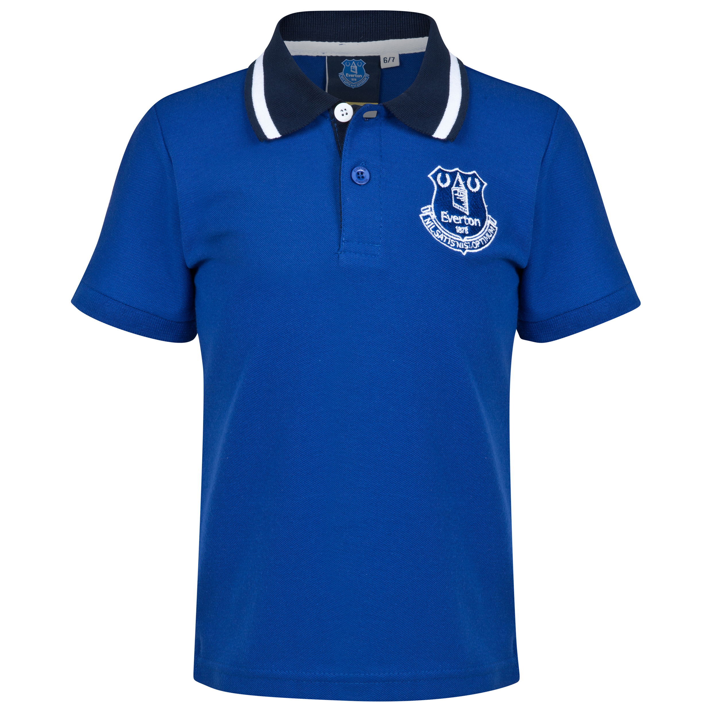 Everton Essential Polo Shirt - Everton Blue - Older Boys