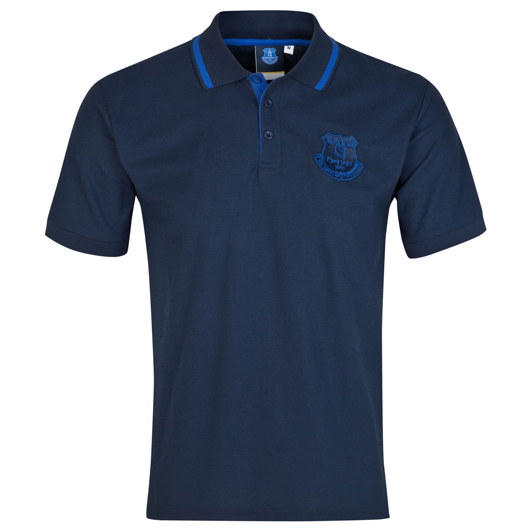 Everton Essential Polo Shirt - Navy - Mens