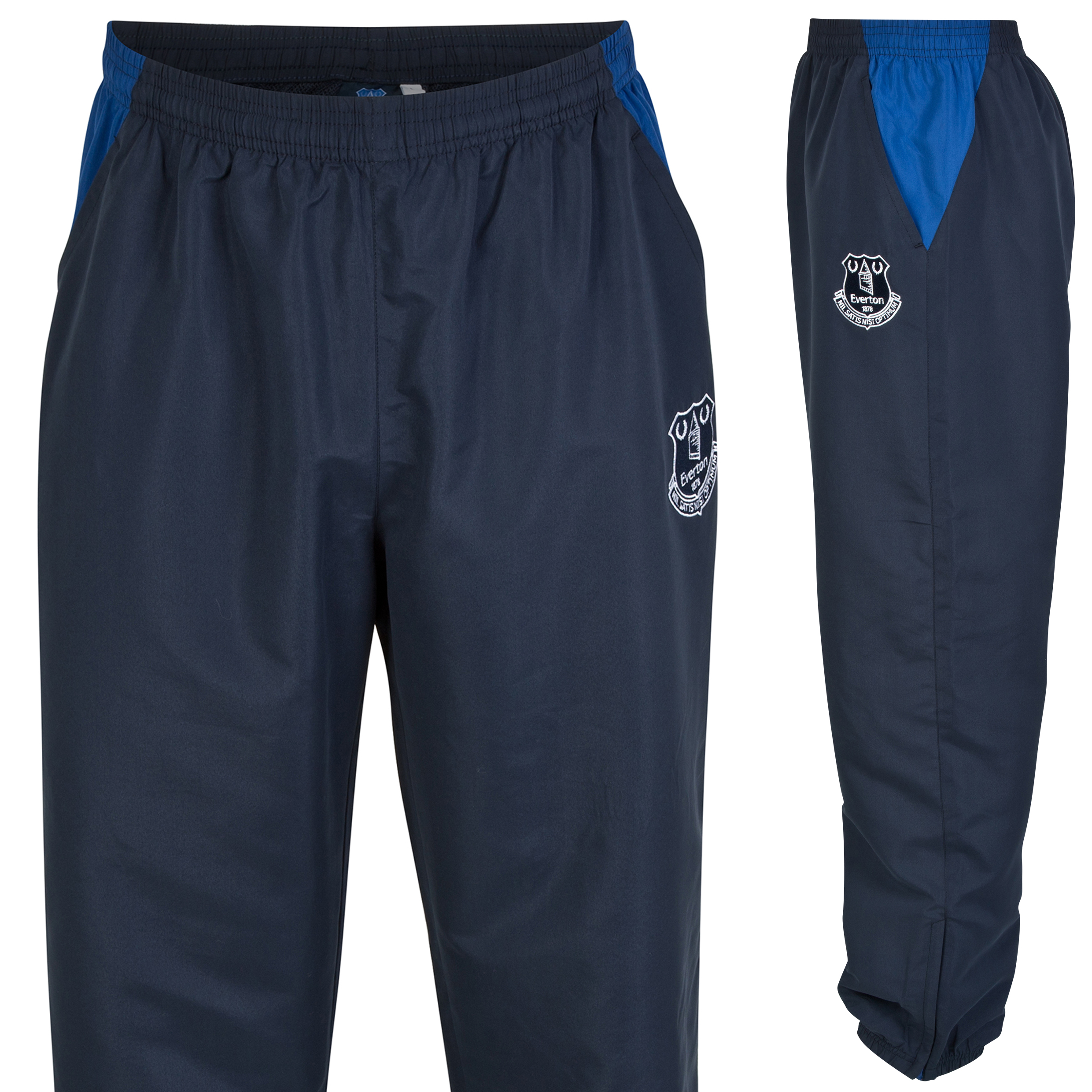 Everton Essential Woven Track Pants - Navy - Mens
