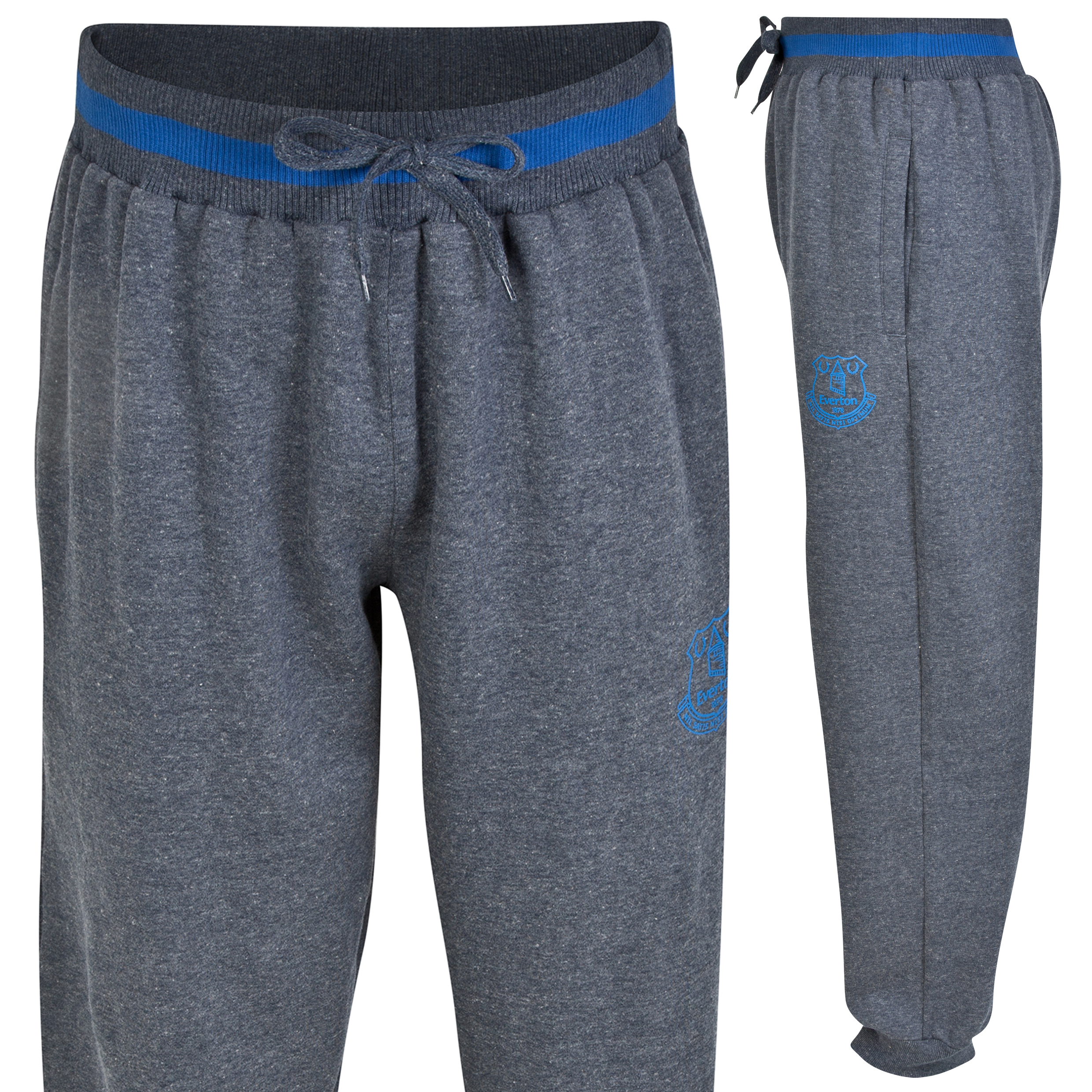 Everton Essential Jog Pants - Heather Navy - Mens