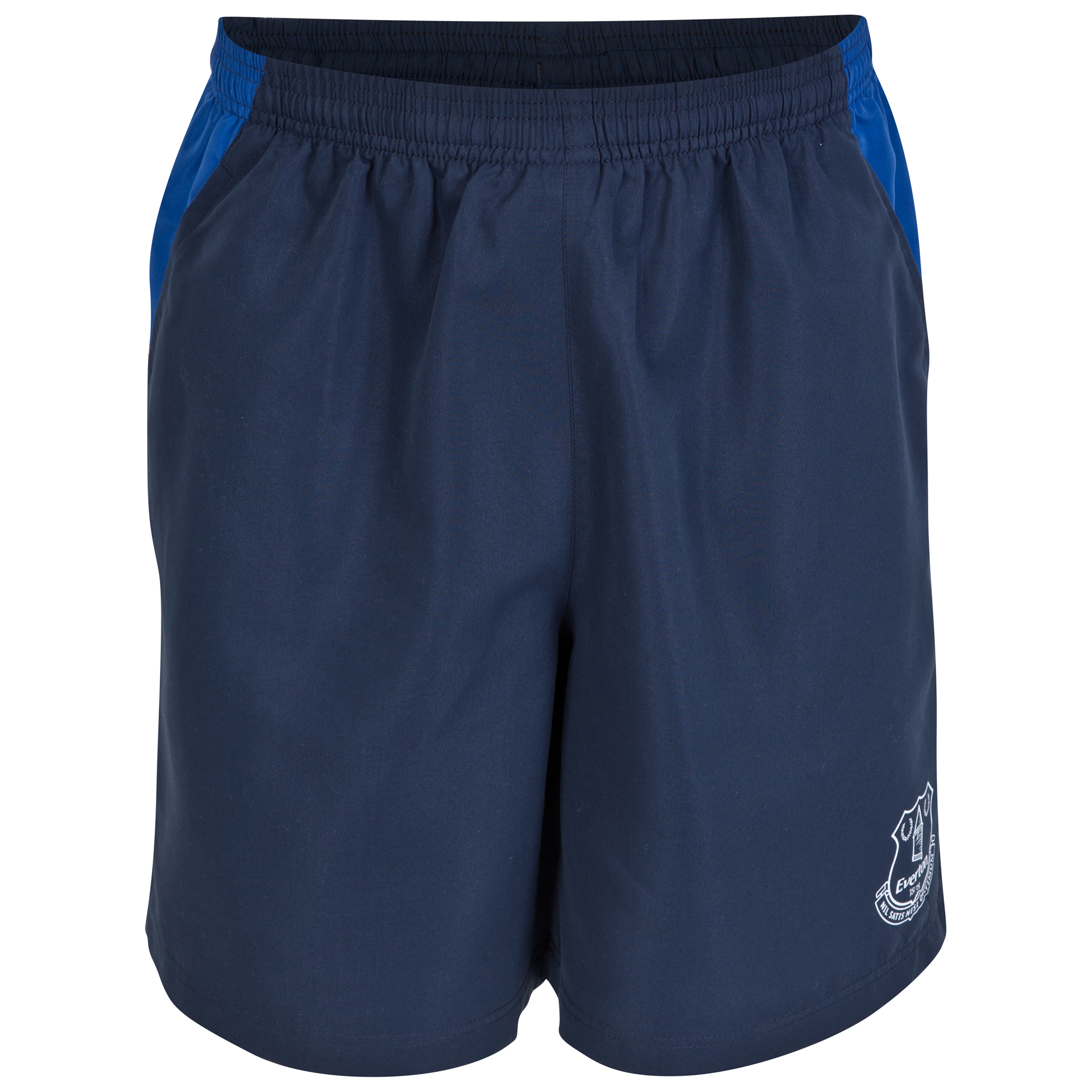 Everton Essential Woven Shorts - Navy - Mens