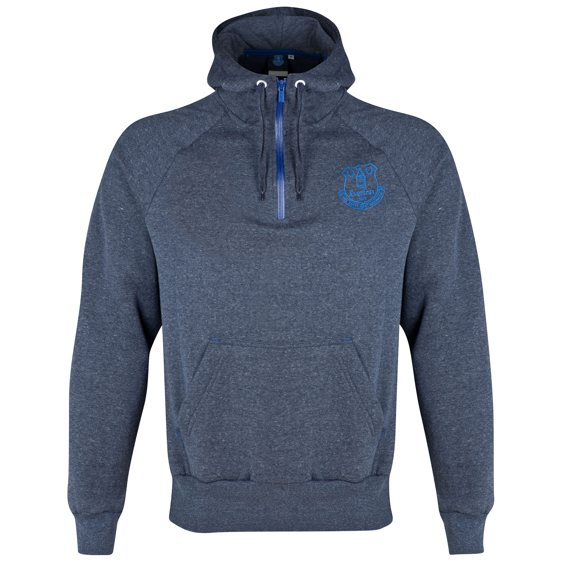 Everton Essential Hoodie - Heather Navy - Mens