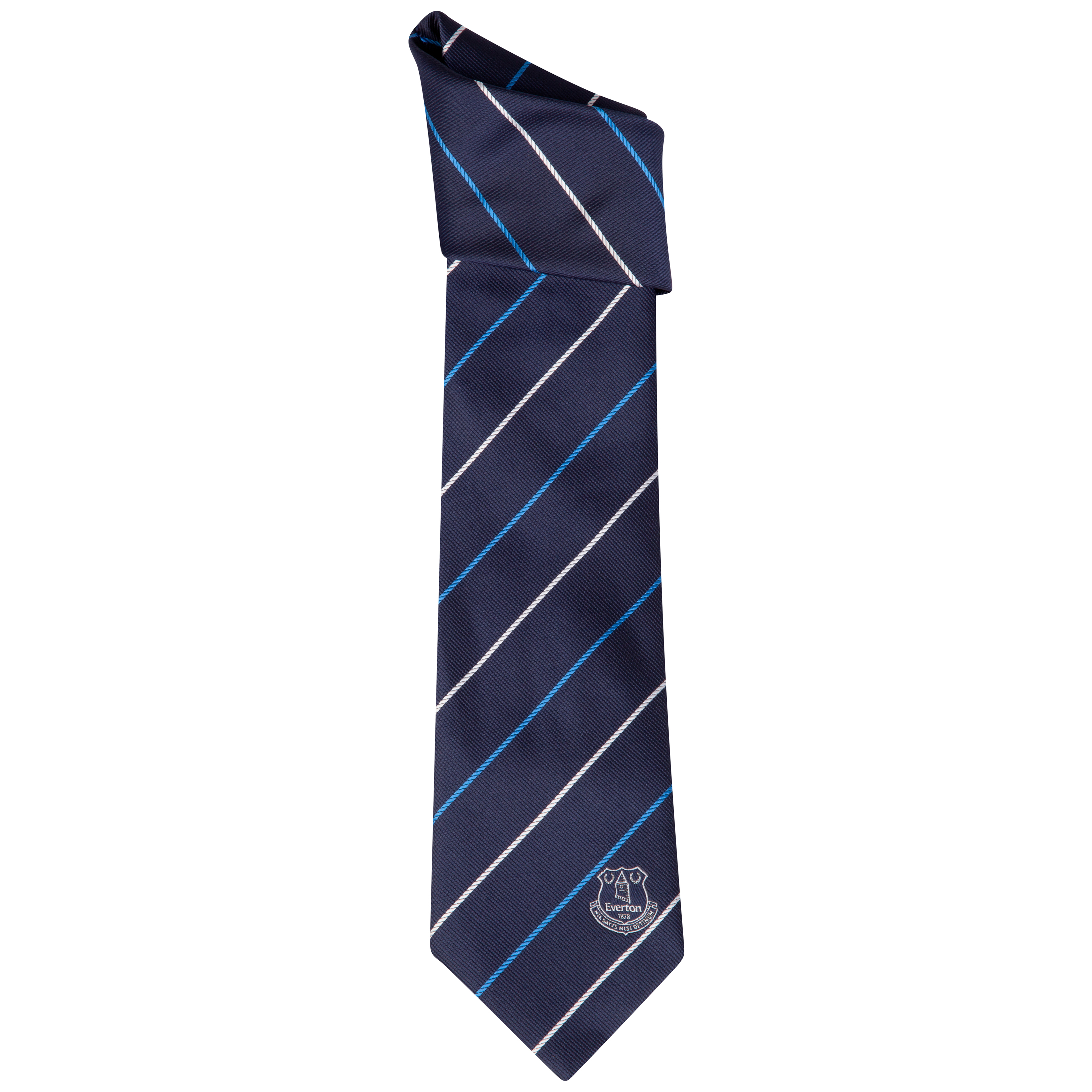 Everton Knots Stripe Tie