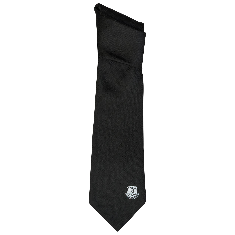 Everton Black Tie 2 Tone