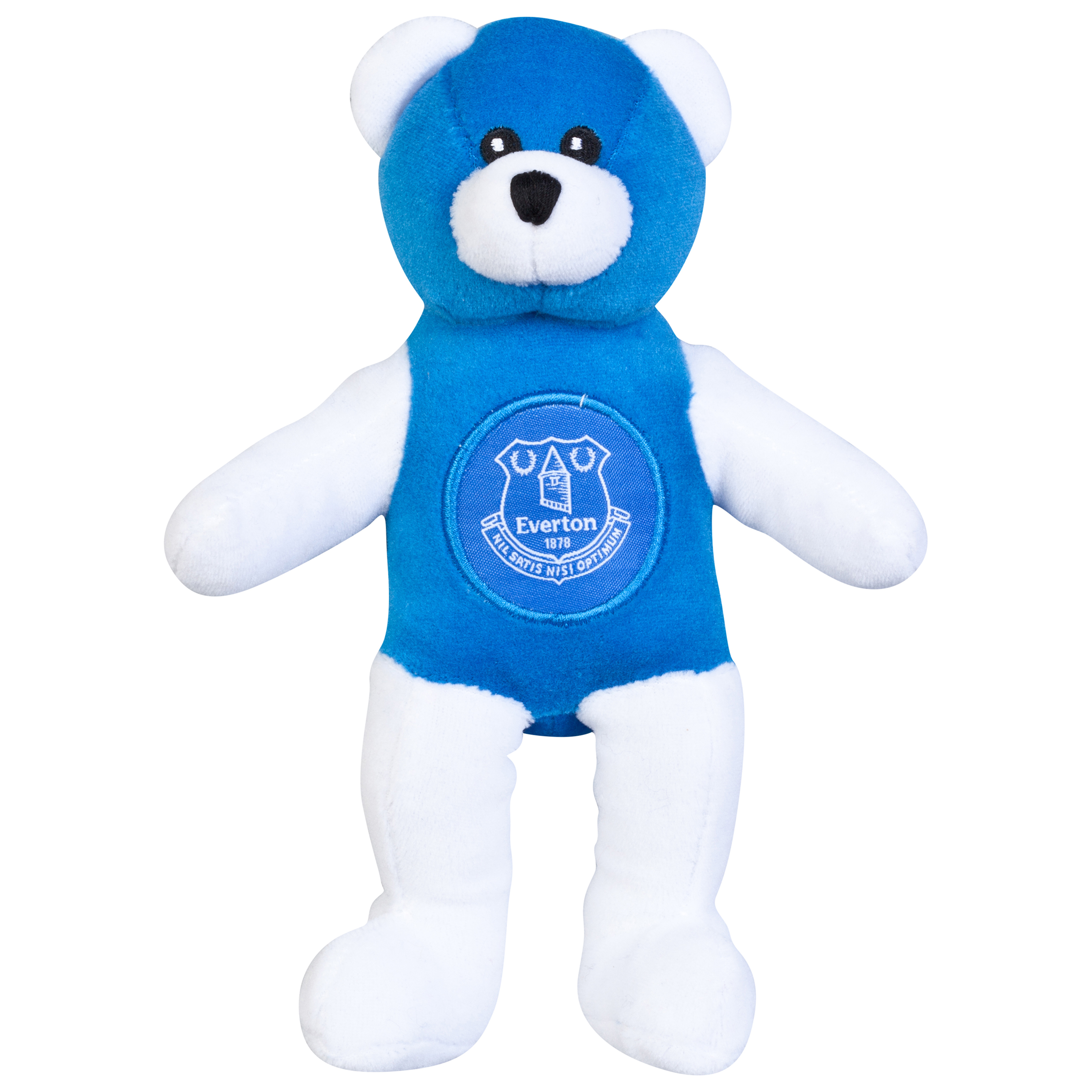 Everton Solid Contrast Beanie Bear
